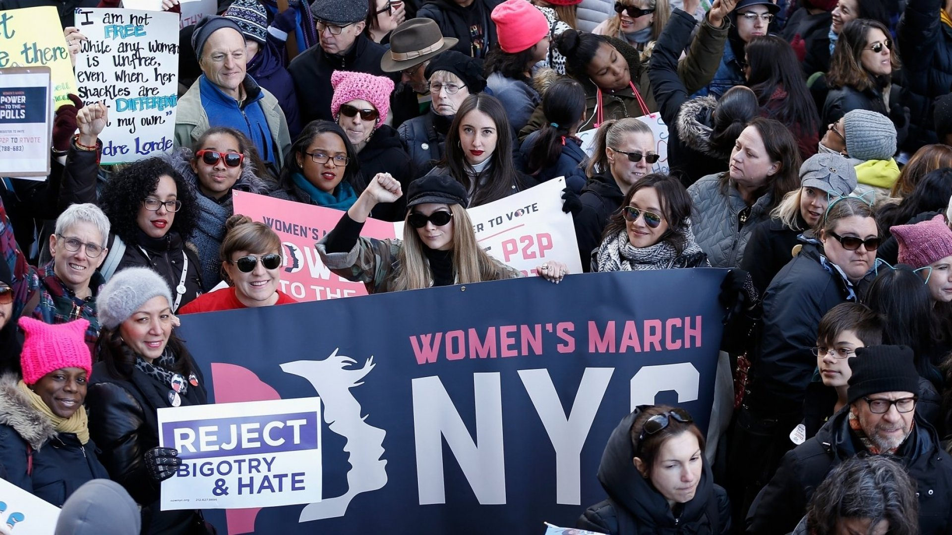 The New York Women's March Wants to Rally People Around a New Issue--and It's Tapping This Crowdfunding Site to Do It