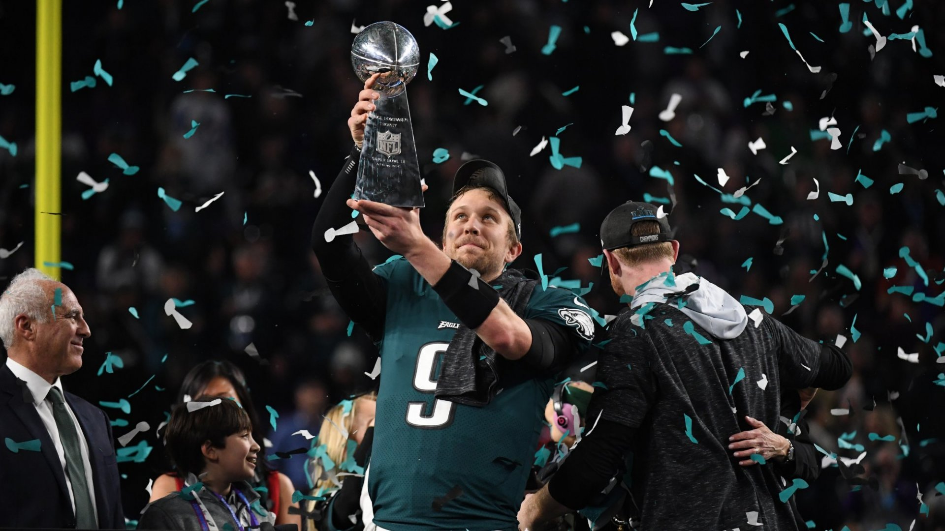 The Philadelphia Eagles won on the field, but who won off of it, during the commercial breaks?