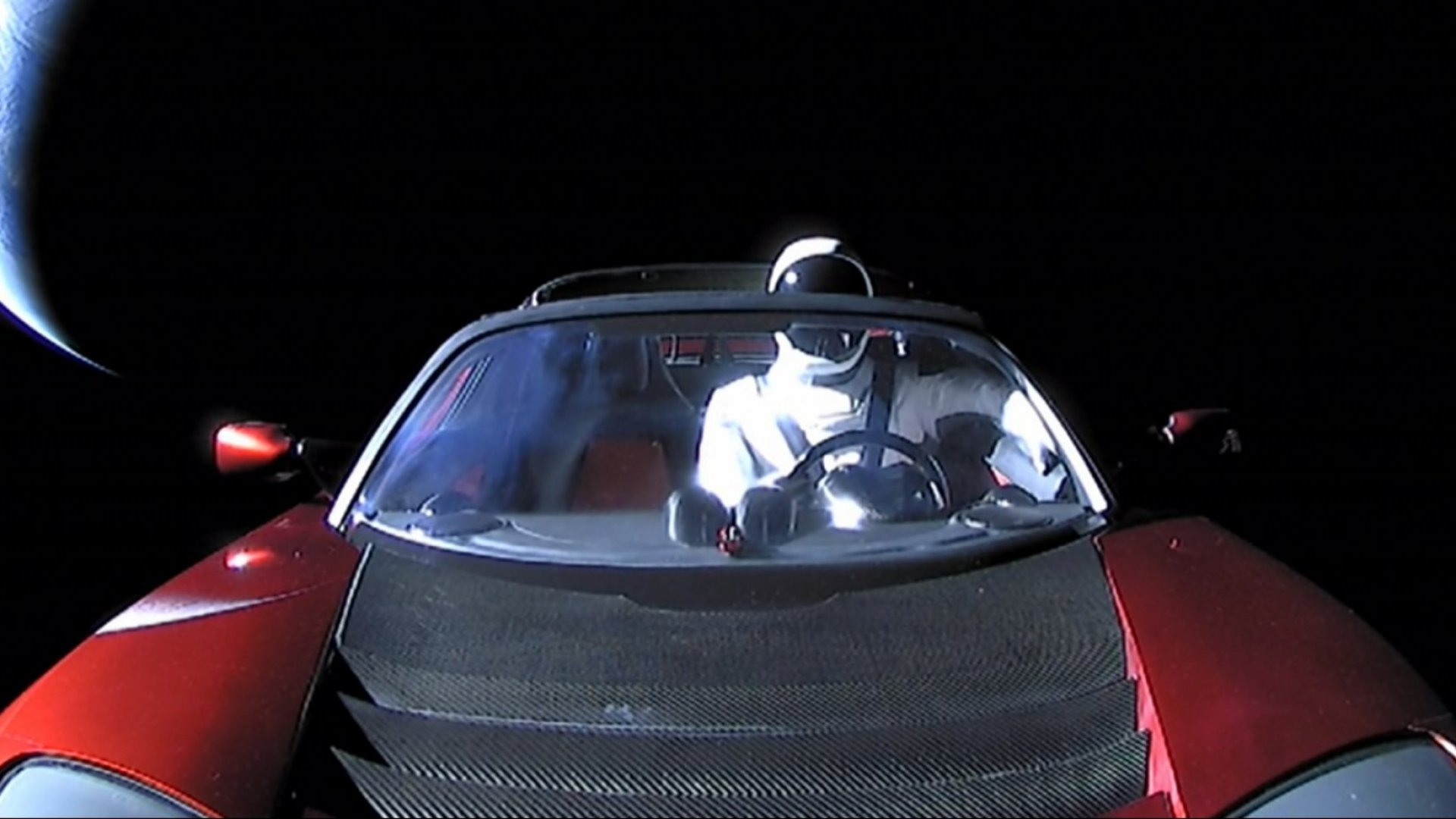 Elon Musk Just Sent More Stuff Into Space--This Time, It's Even Better Than the Roadster