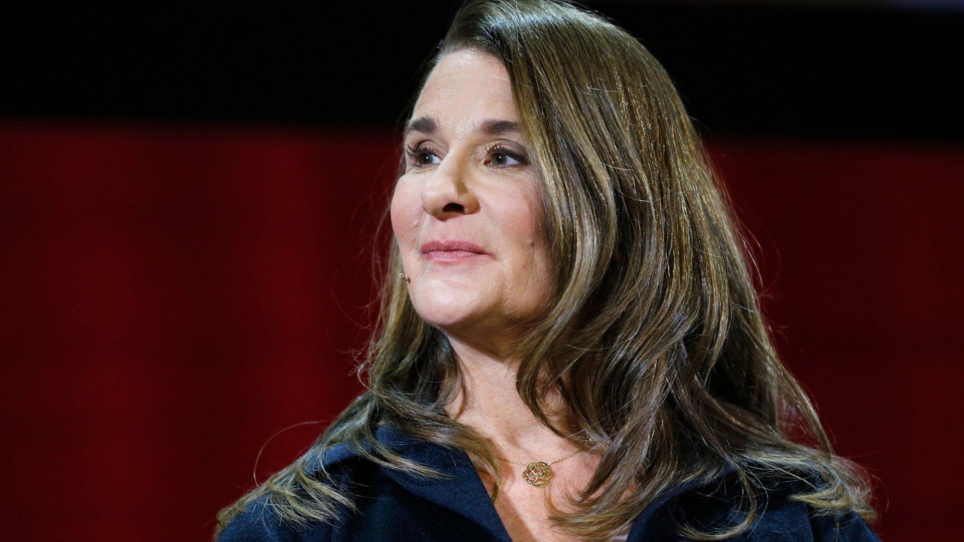 Melinda Gates, 2018.