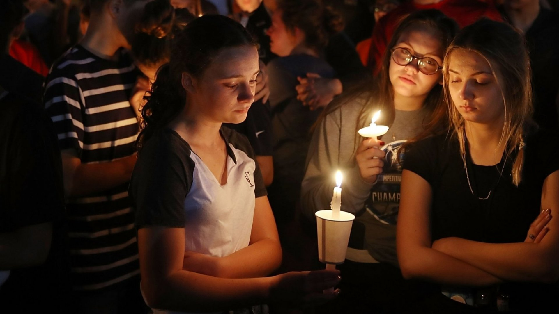 In America, school shootings happen with frightening regularity. Now, an entire industry of bulletproof products and emergency response tools has been created.