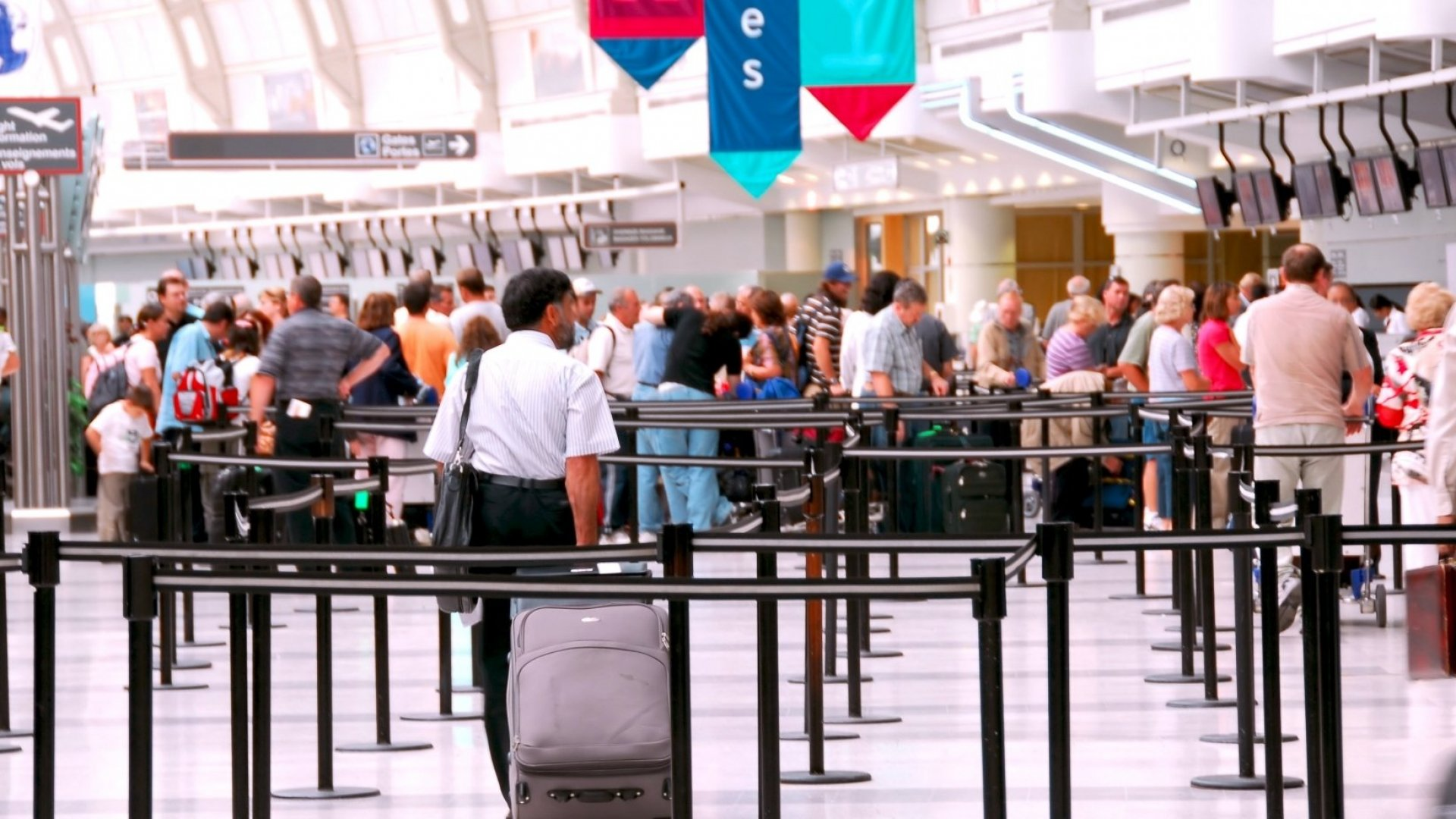 Airport Crowds Are Bigger Than Ever This Summer. Here's What You Can Do About It
