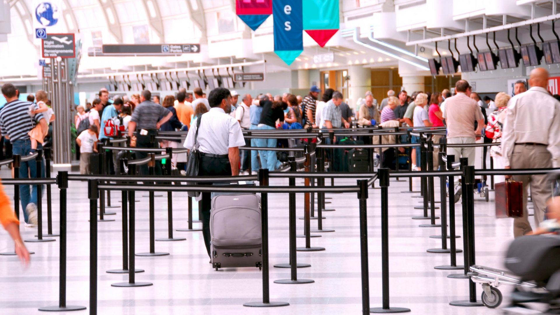 Airports can be frustrating, but business travel is a great opportunity
