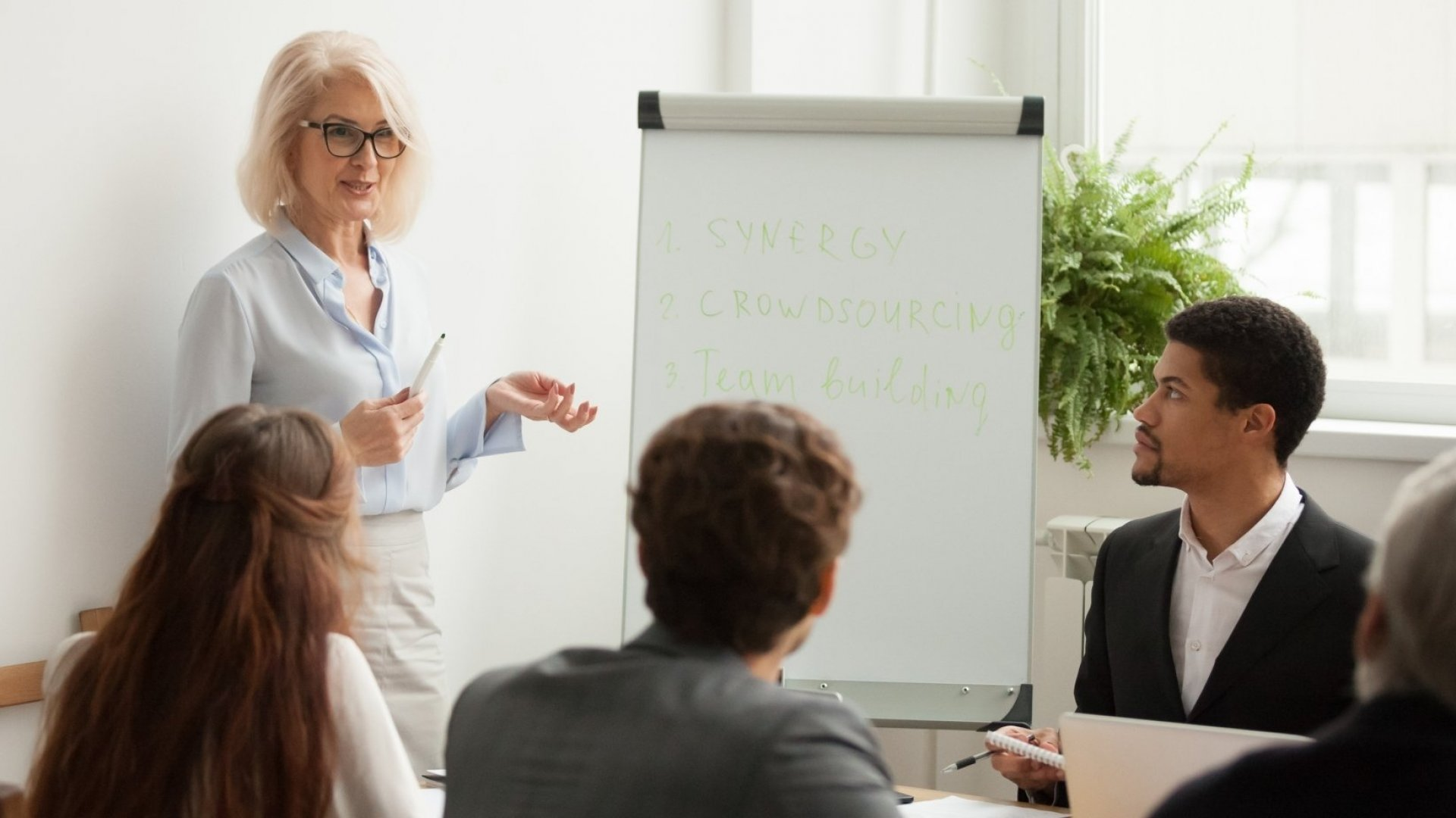 To Inspire Employees, Develop Your Leadership Voice. Here's How