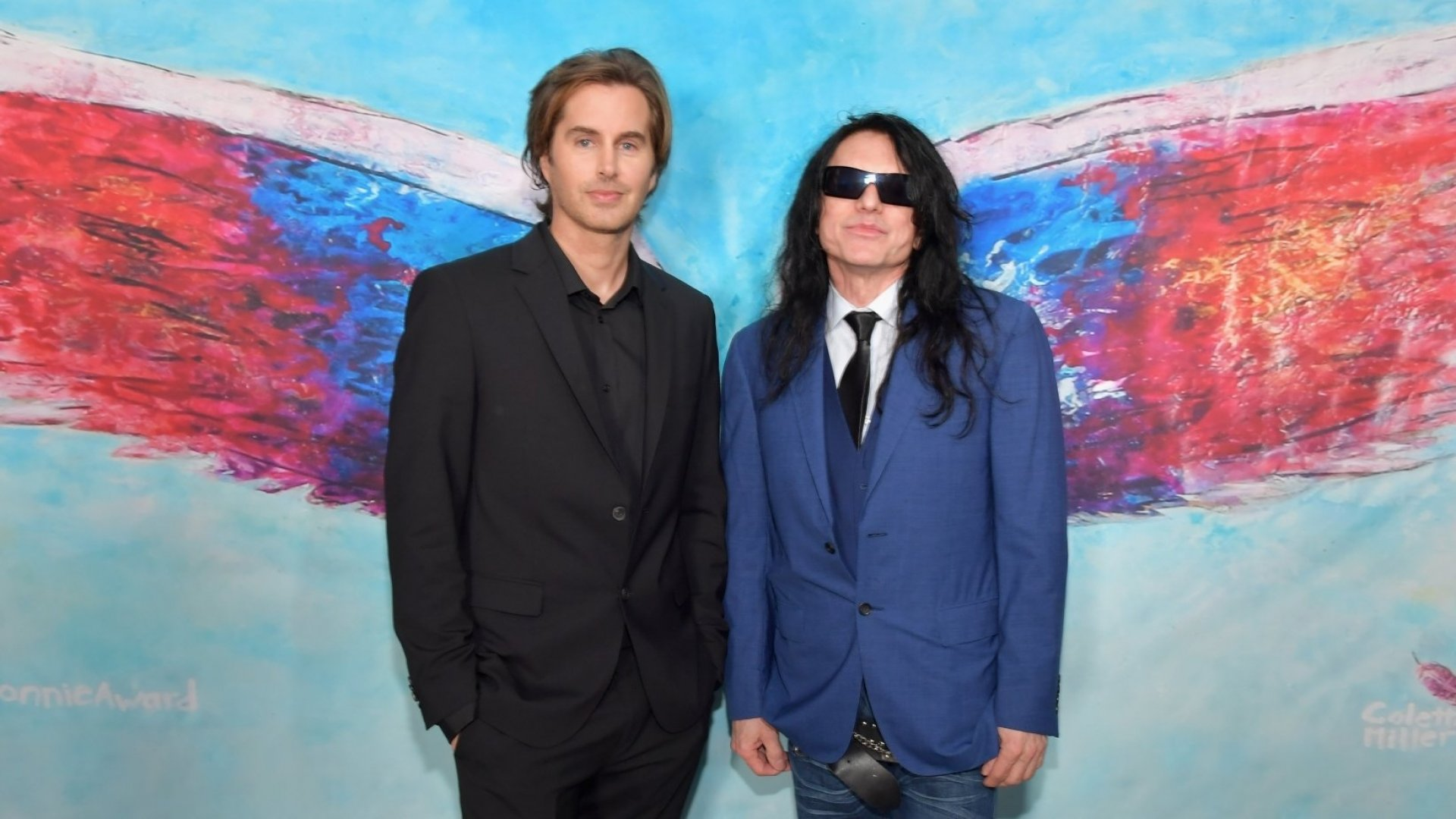 Greg Sestero and Tommy Wiseau.