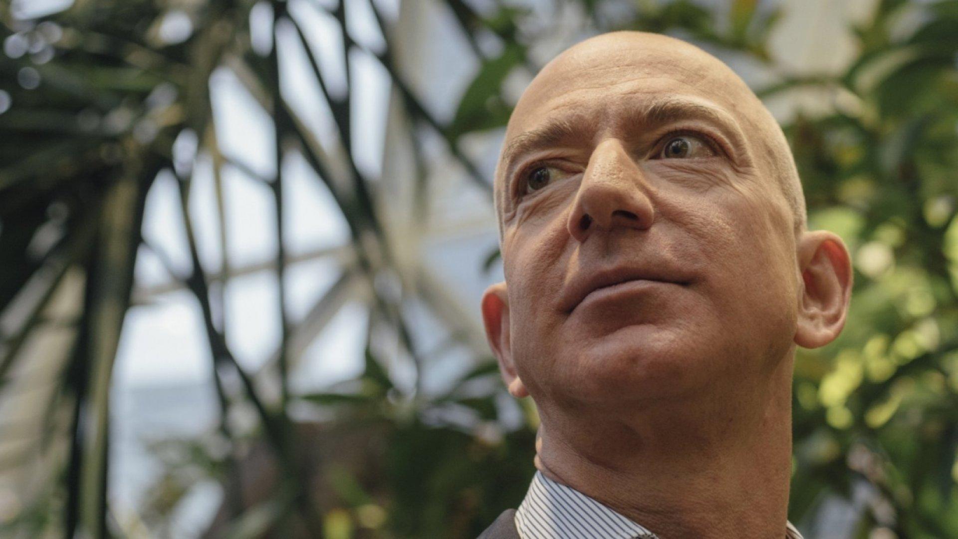 Amazon Can Control the World, According to Bezos