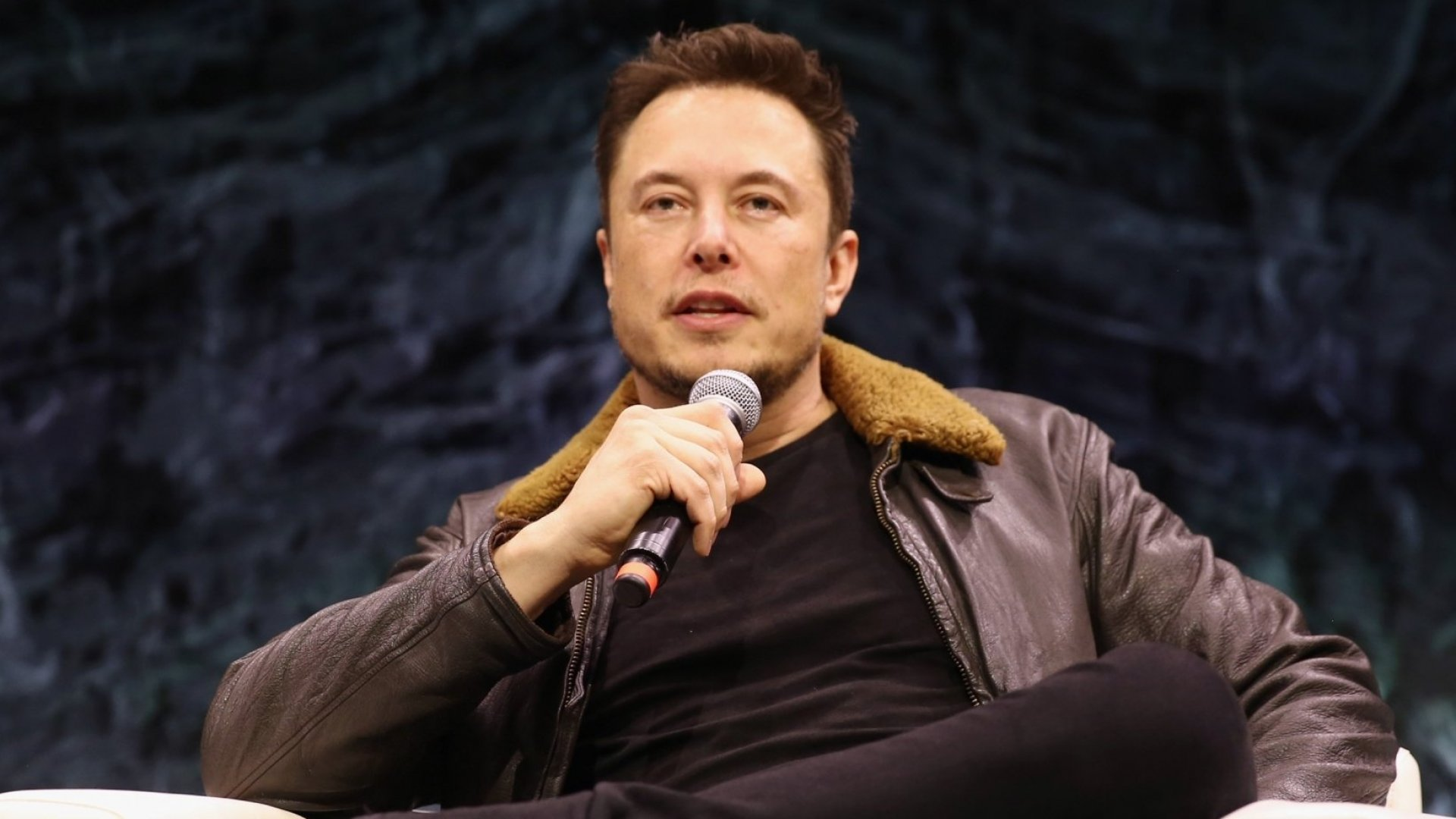 Elon Musk speaks onstage at Elon Musk Answers Your Questions! during SXSW at ACL Live on March 11, 2018, in Austin.