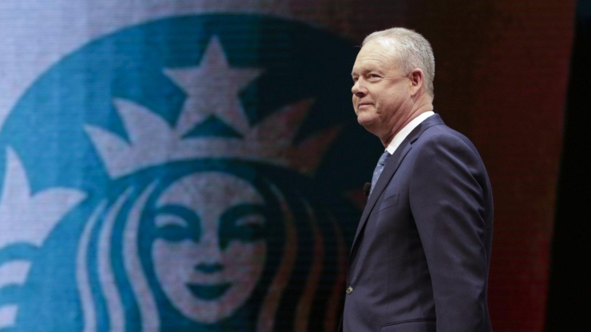 Starbucks CEO Kevin Johnson.
