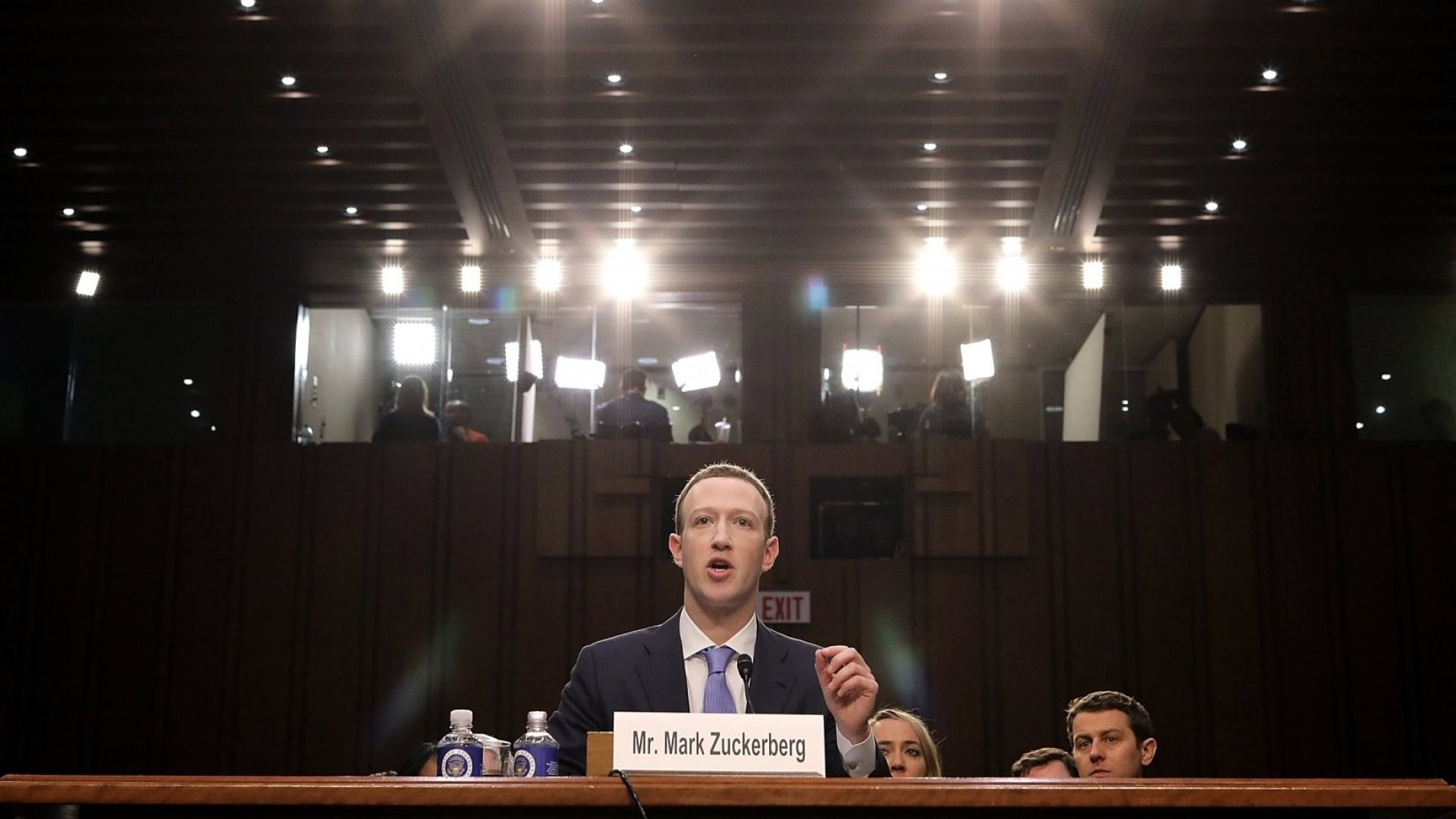 Here's How You Know Zuckerberg's Testimony Won't Keep the Government at Bay
