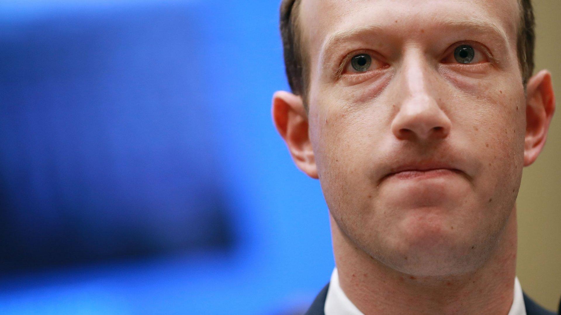 Investors Revolt Against Mark Zuckerberg at Facebook's Annual Shareholder Meeting