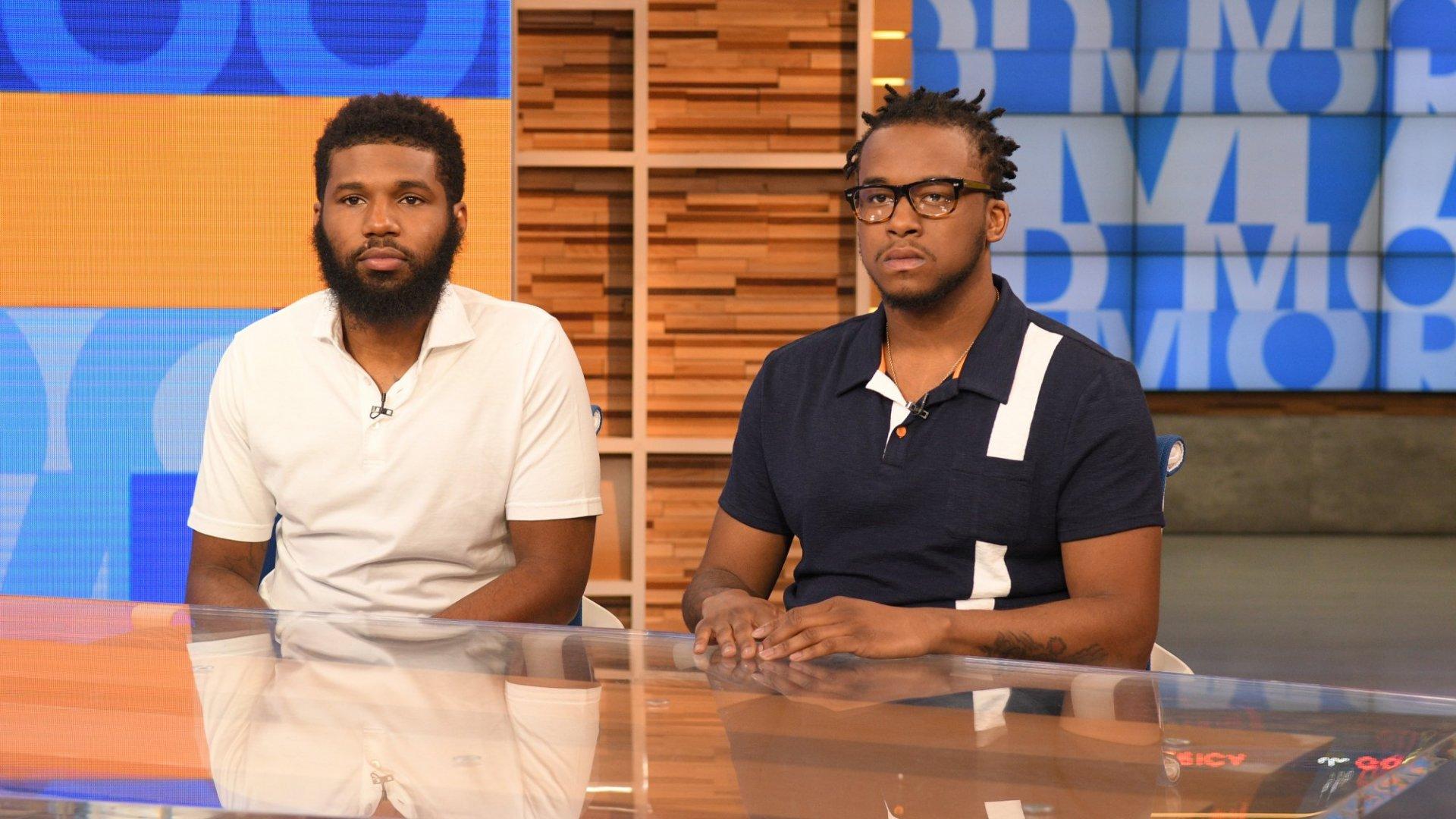Rashon Nelson and Donte Robinson.