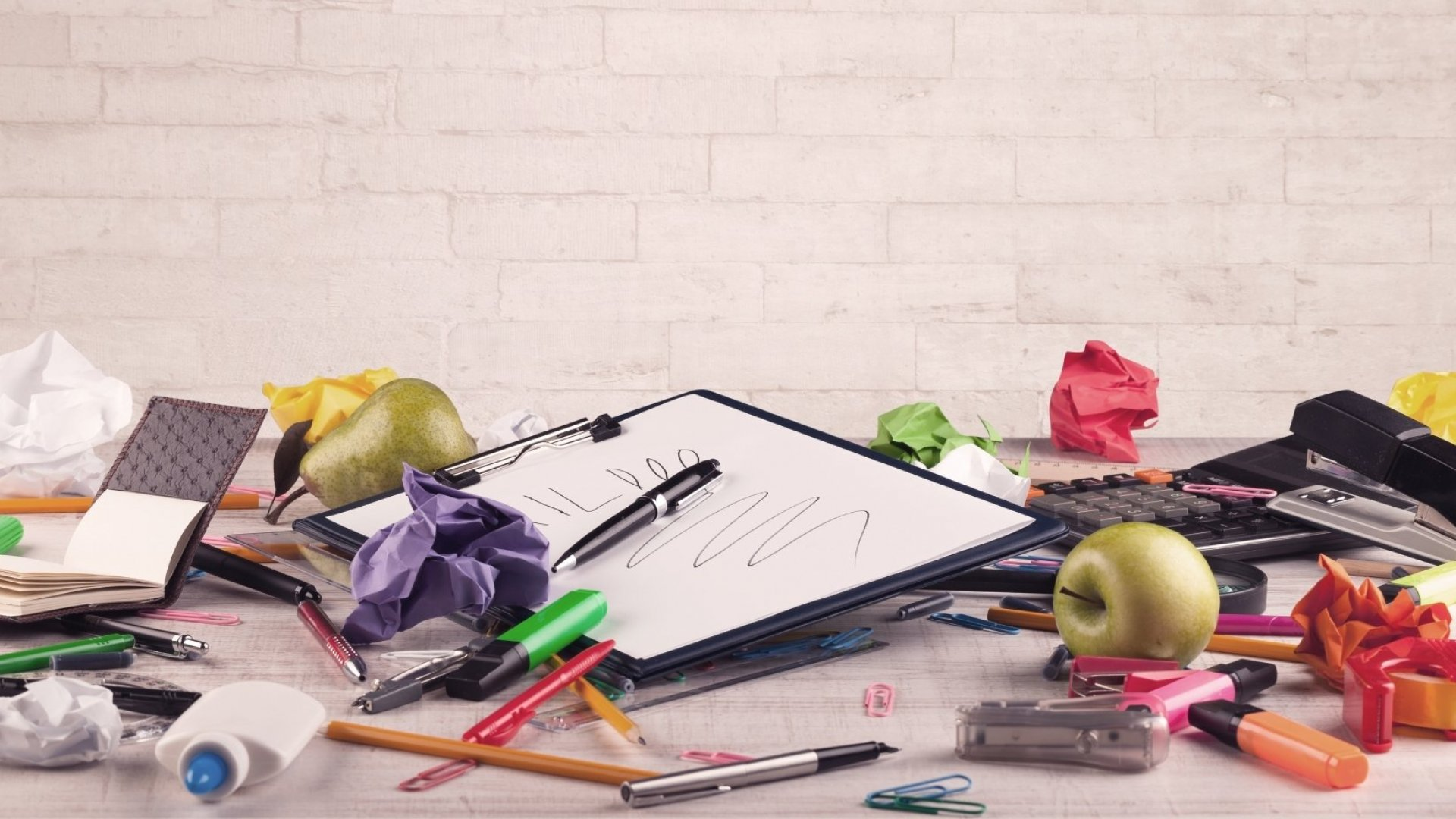 Want People to Like You? Clean Up Your Messy Office, Study Says