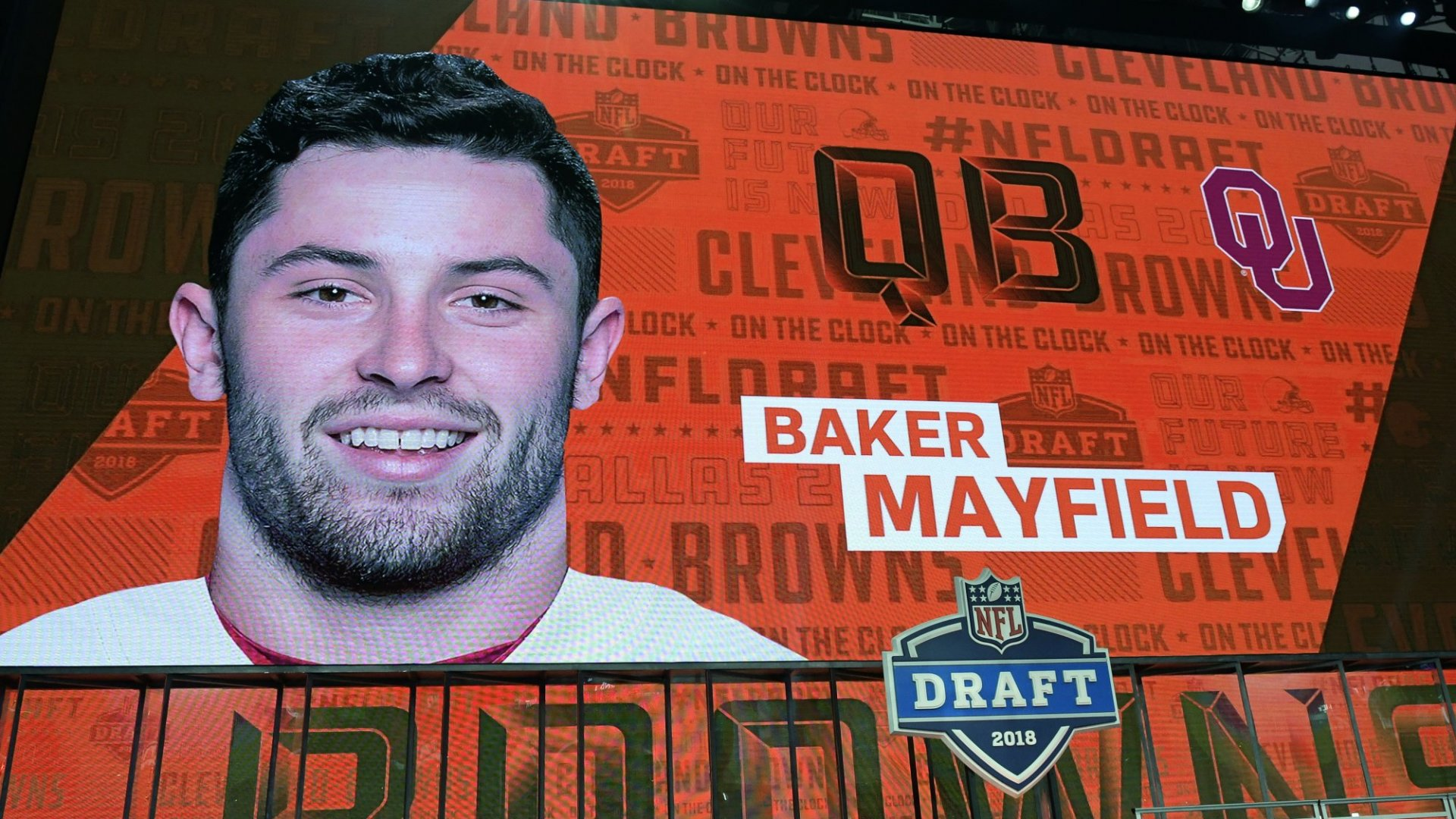 Why Top NFL Draft Pick Baker Mayfield Is an Inspiring Lesson in Persistence