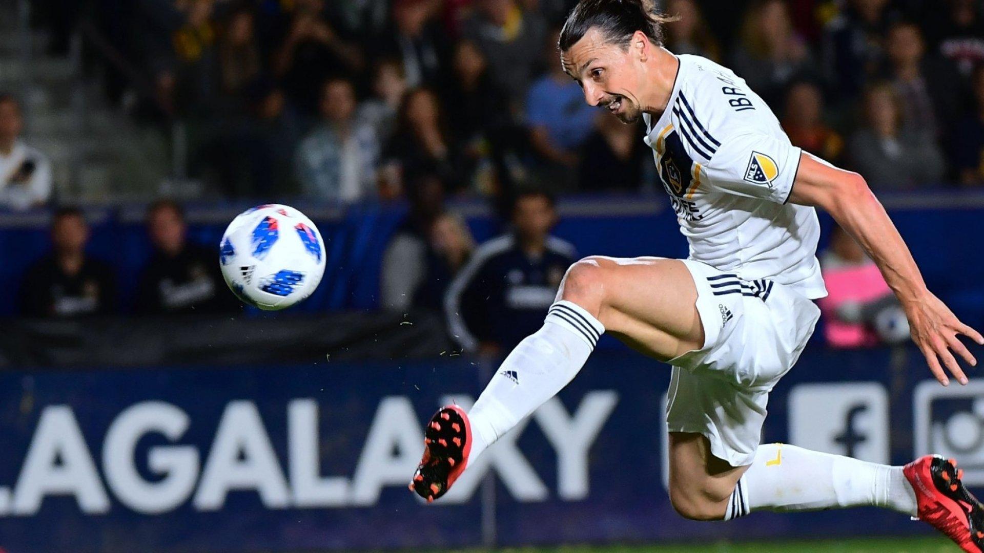 Zlatan Ibrahimovic of LA Galaxy.