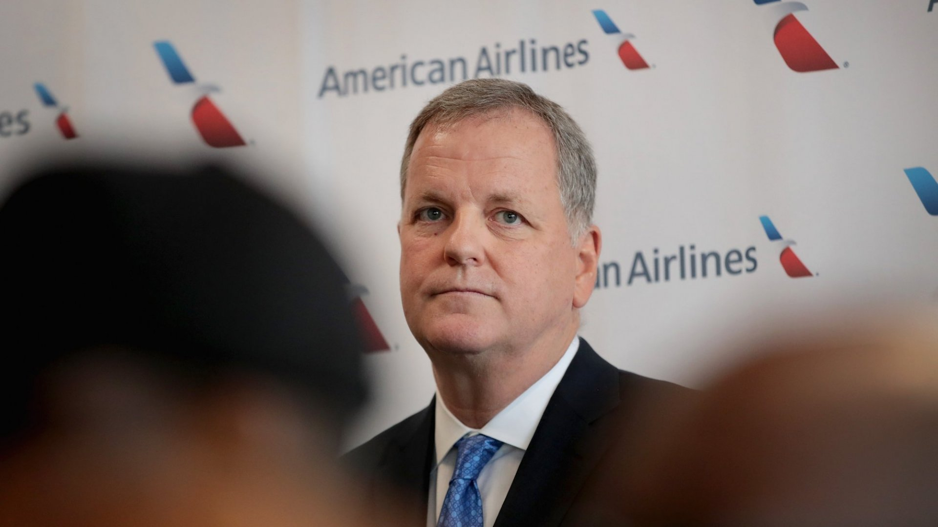 American Airlines CEO Doug Parker says he wants to listen to employees.
