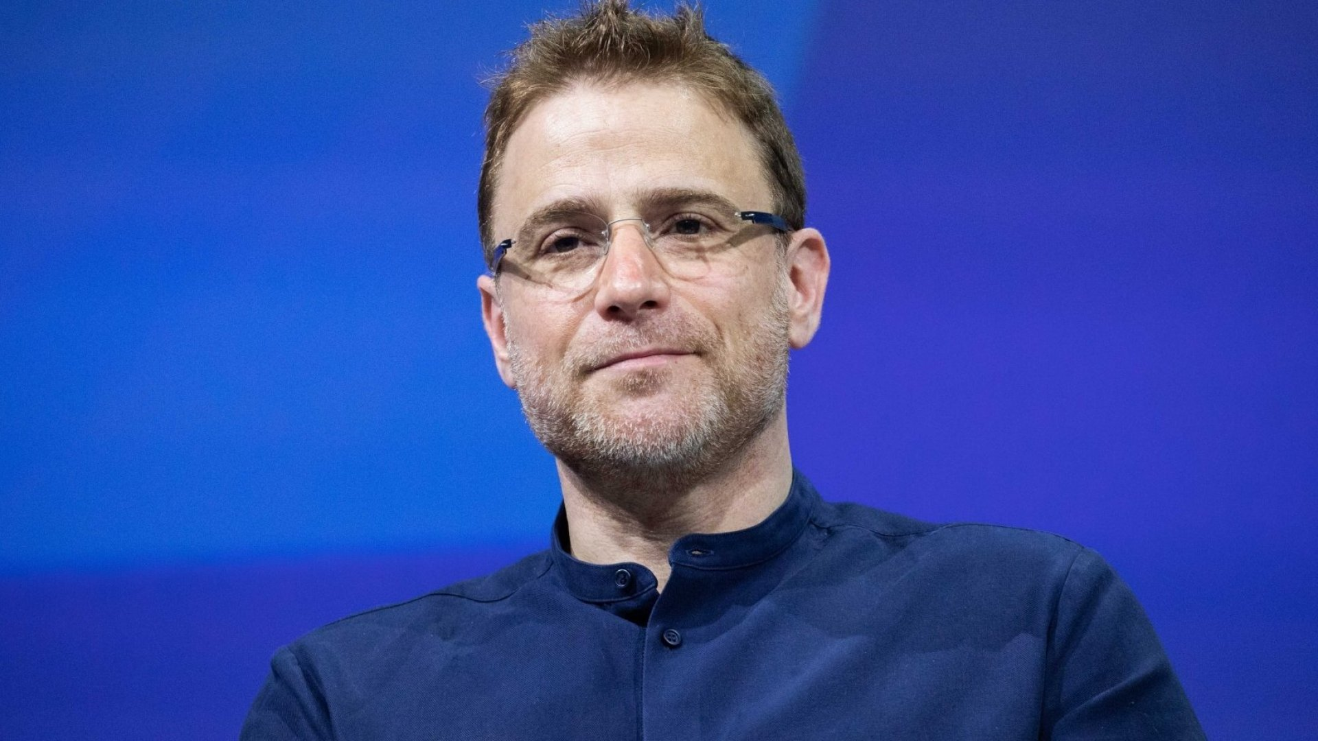 Stewart Butterfield, Co-founder and CEO of Slack, attends the Viva Tech startup and technology gathering at Parc des Expositions Porte de Versailles on May 24, 2018 in Paris, France.