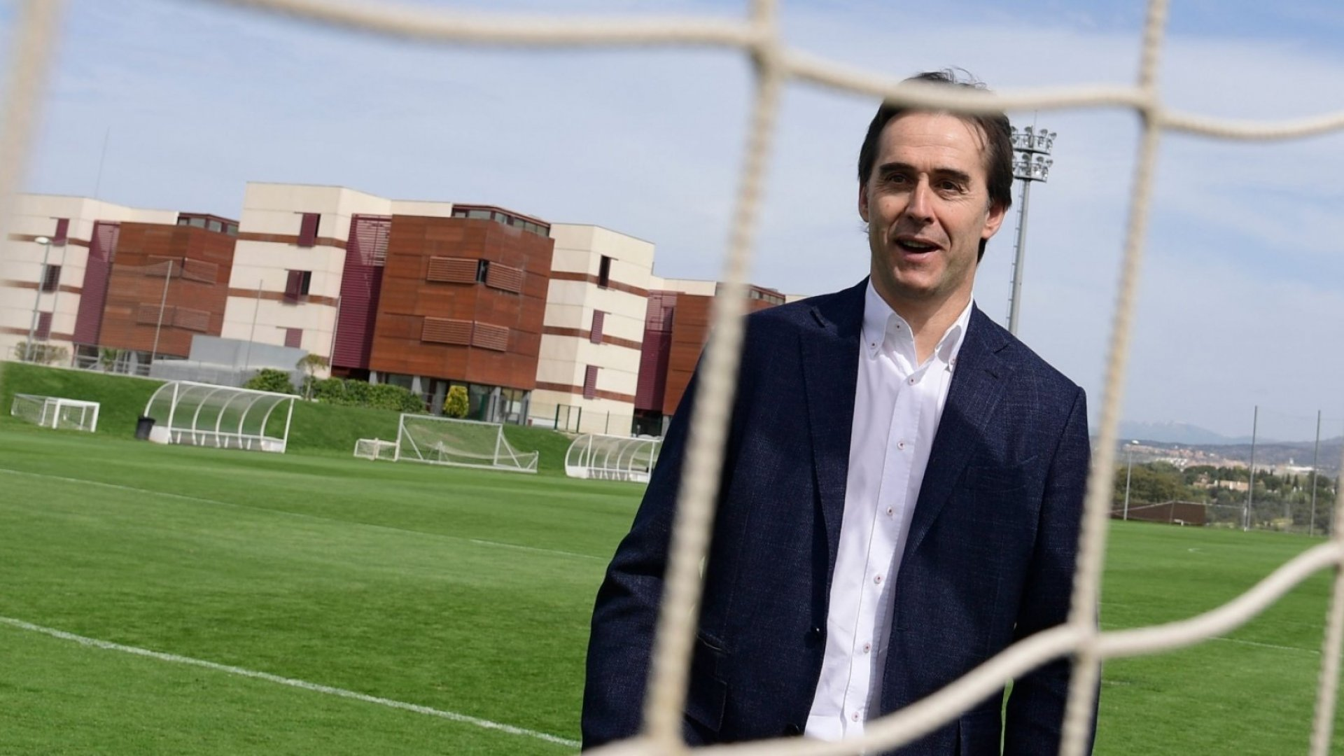 Former Spain team coach Julen Lopetegui