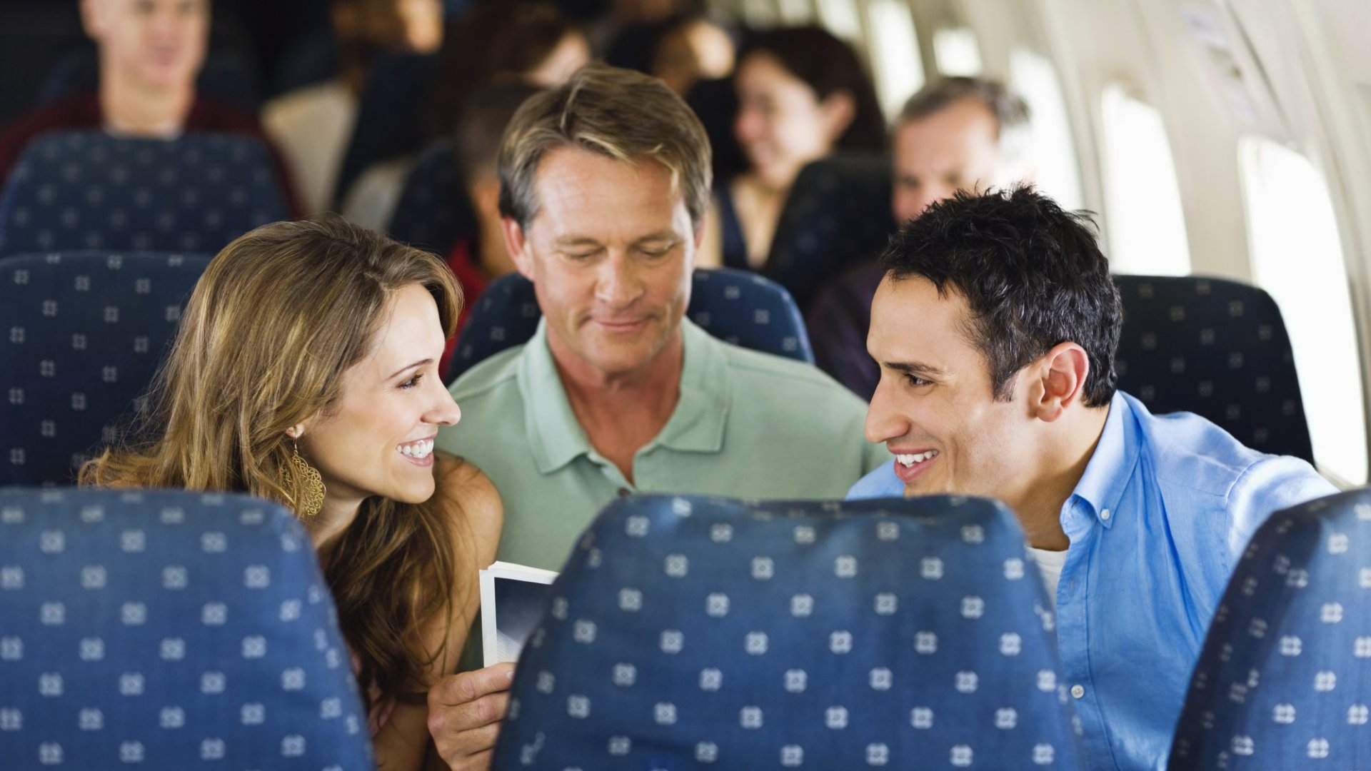 The Surprising Benefit of Talking to Strangers on an Airplane