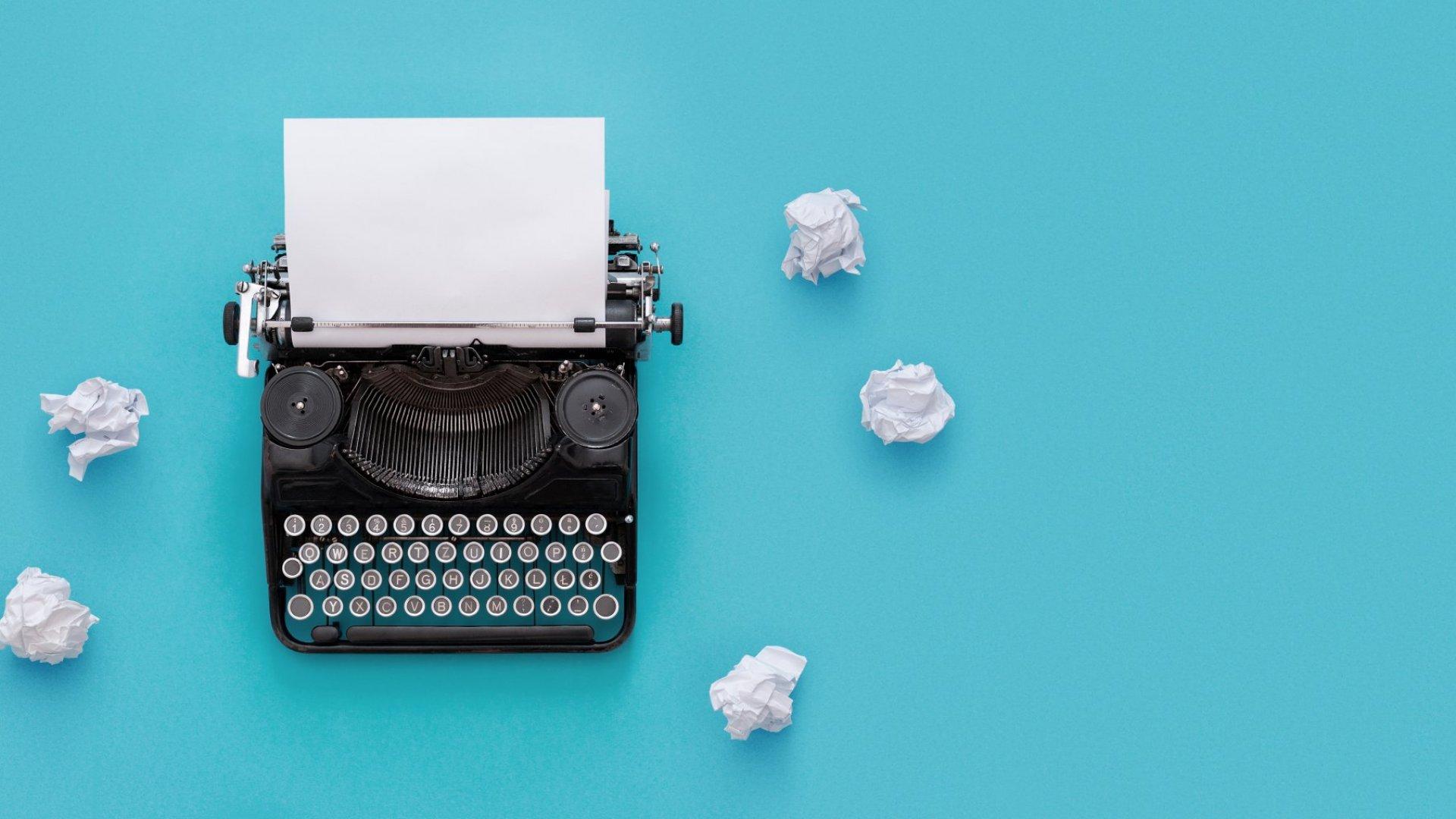 I Want to Write a Book. Where Do I Start?