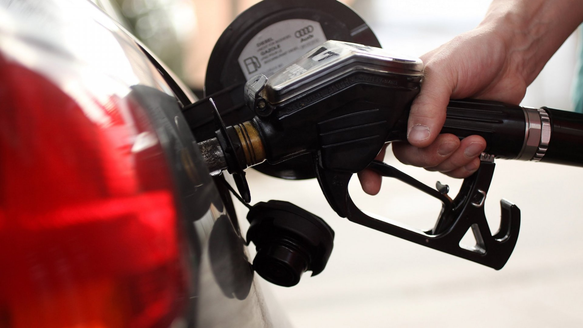 The President may have to use a gas tax to fund his infrastructure plan. (Getty Images)