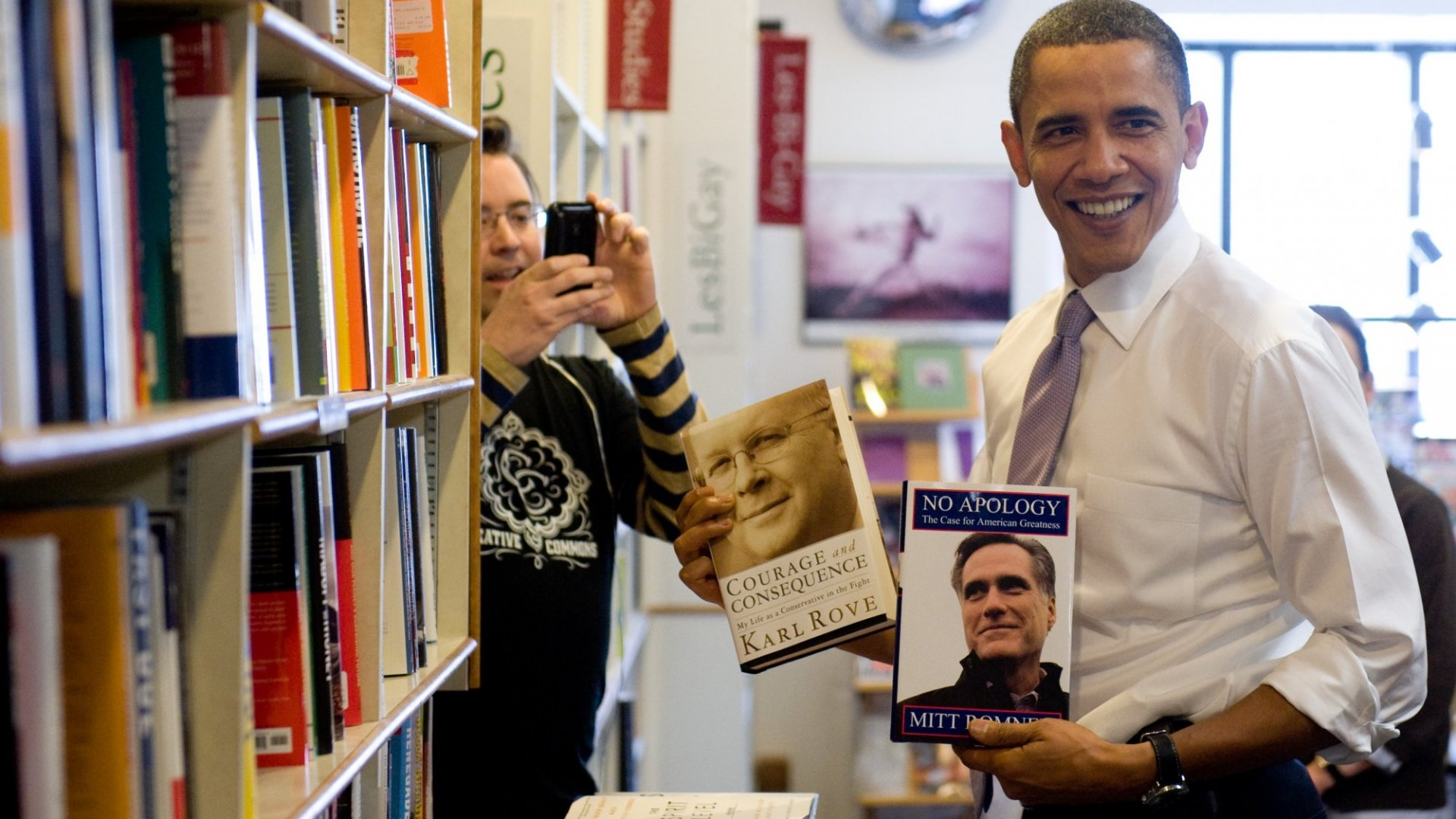 These 10 Books Inspired Obama While He Was President