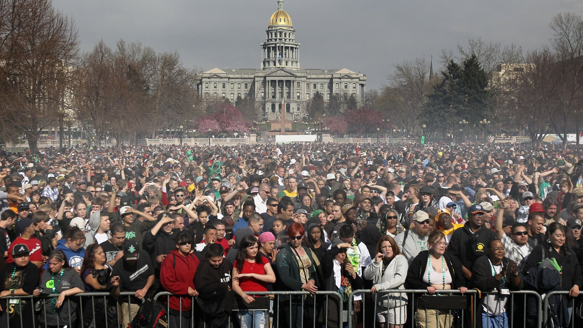 Thousands of people travel to states like Colorado to blaze it up on 4/20.