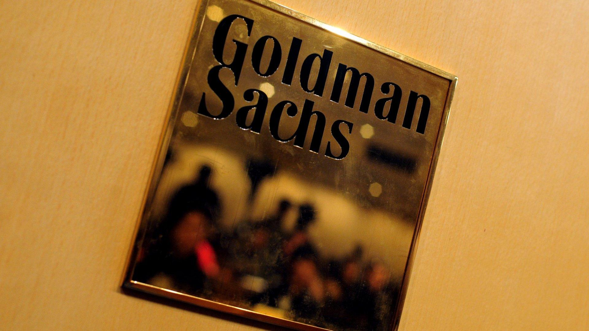 How Goldman Sachs Plans to Disrupt the Disruptors