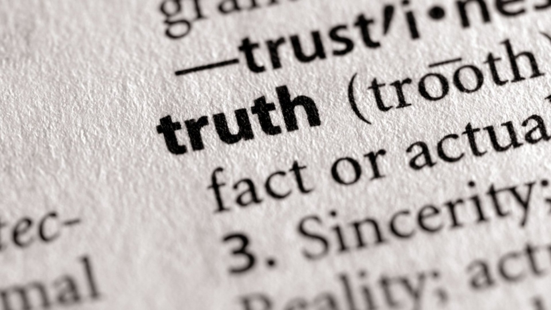 3 Questions to Ask Yourself About Truth in Business