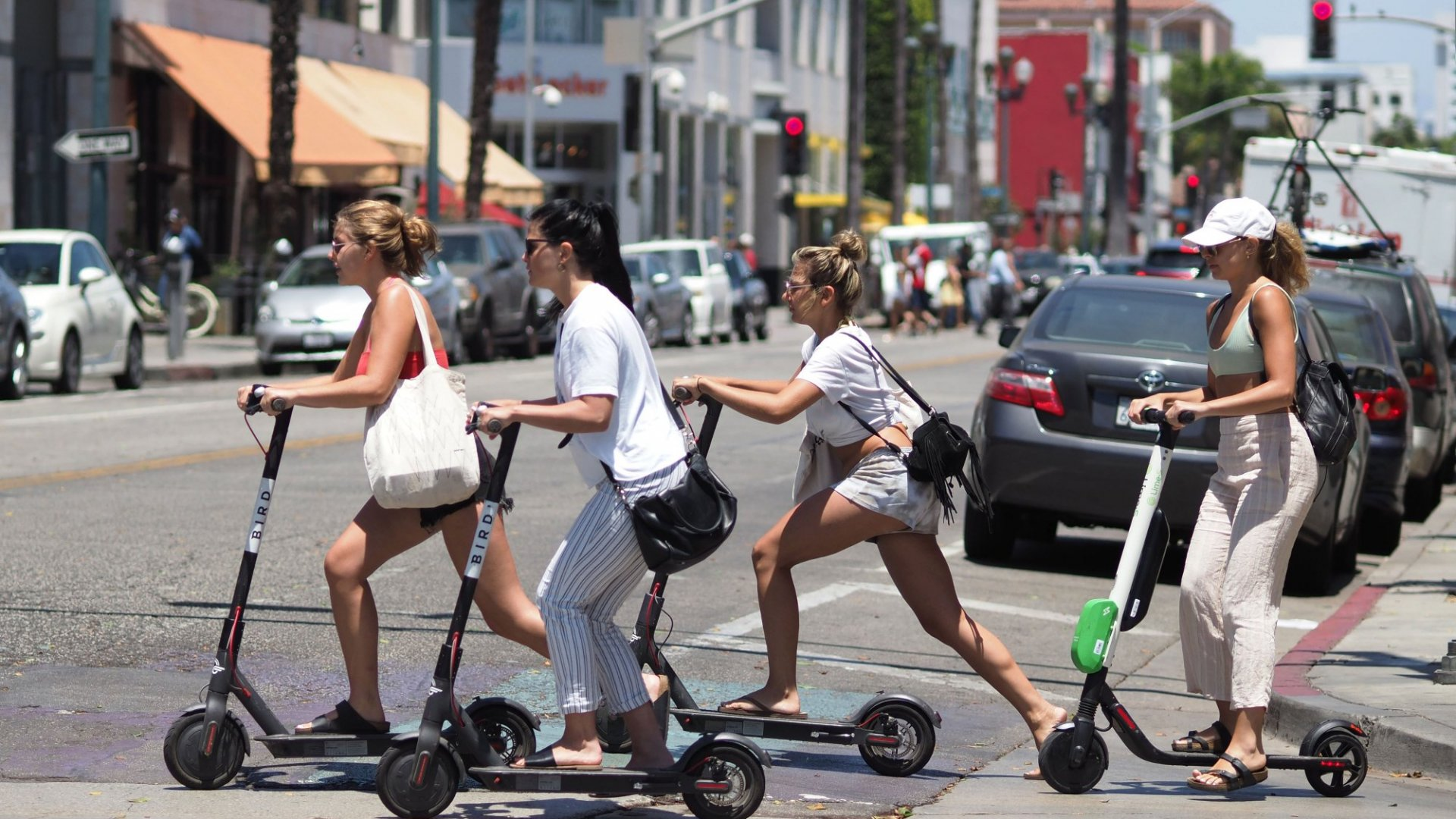 Are Investors in Scooter Platforms Betting on a Fad?