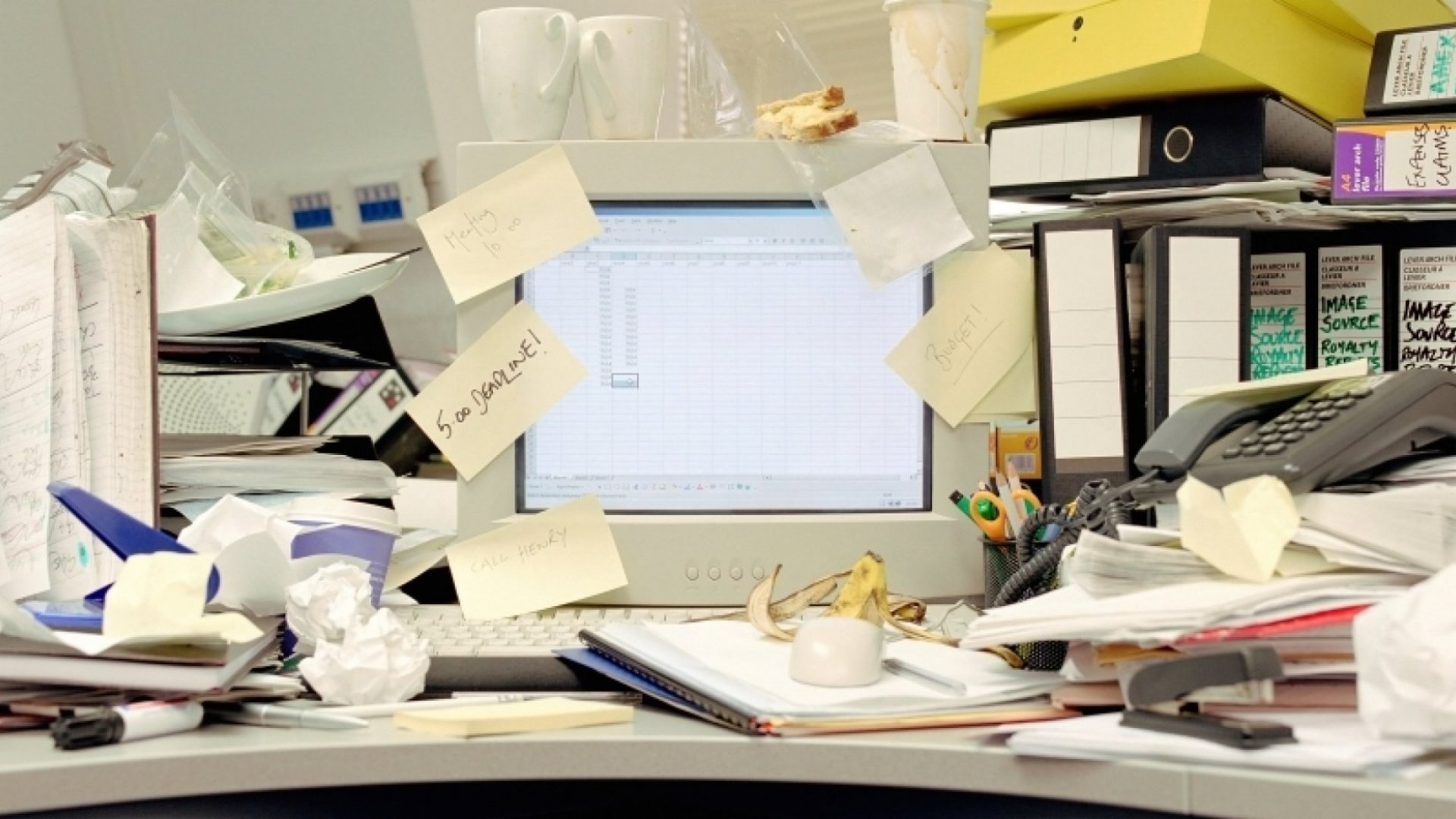 The 2 Types of Clutter Stalling Your Business