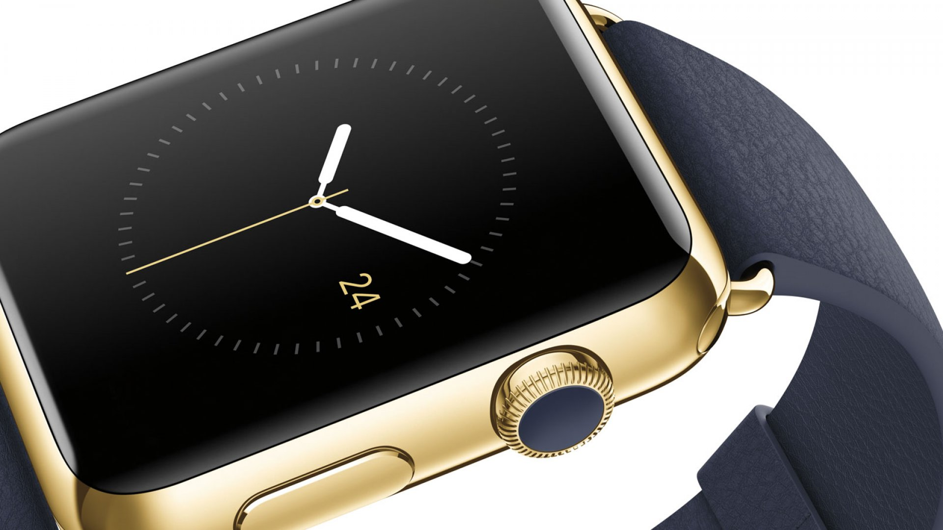 The basic Watch model will set you back $349. Pictured above is the $10,000 18-karat gold Watch.