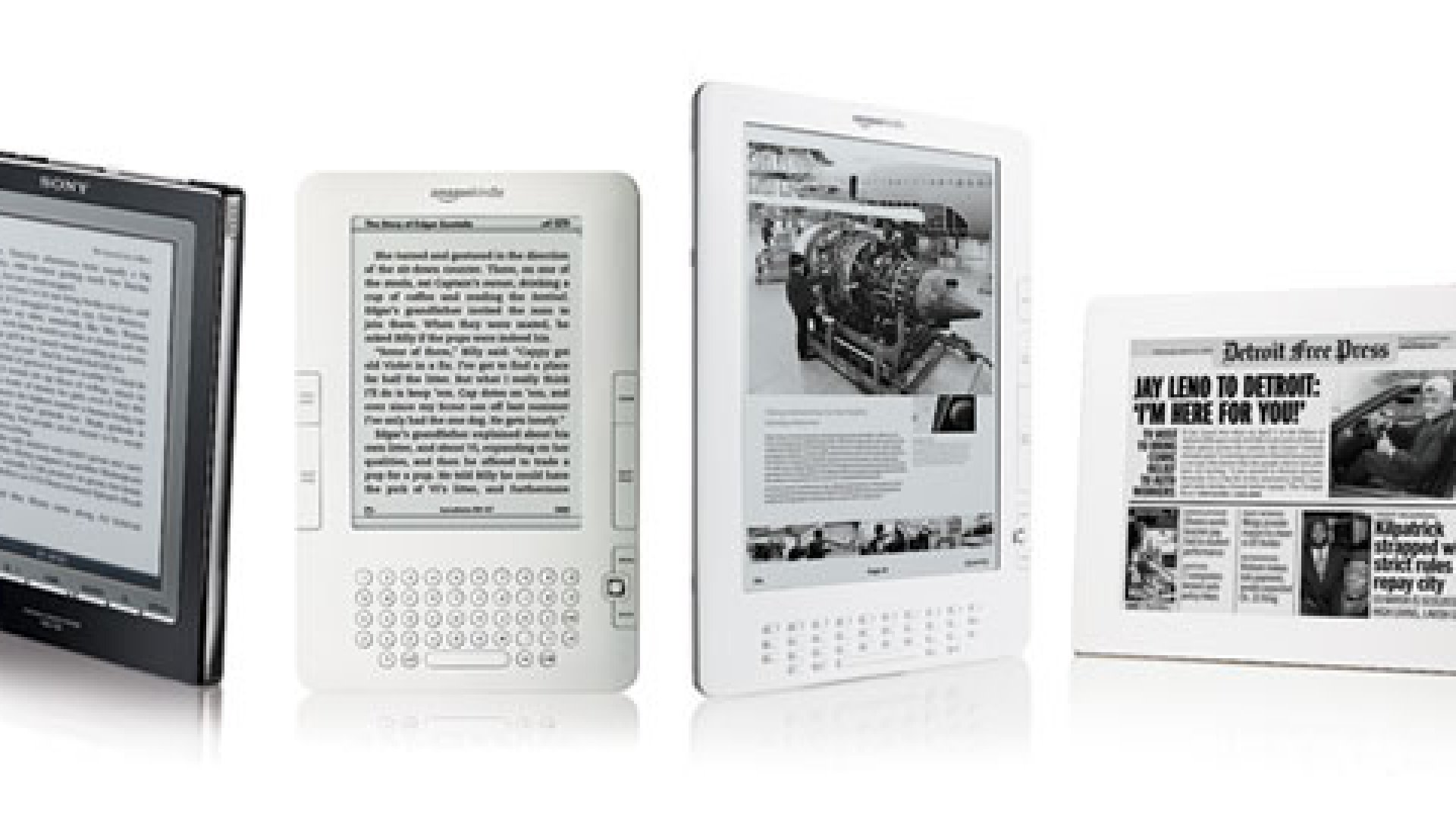 The Best New E-Book Readers