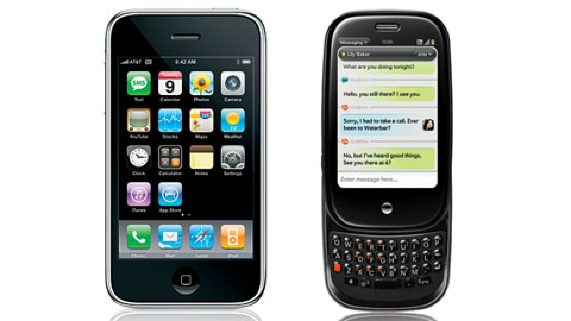 The Palm Pre Takes On the iPhone 3G S
