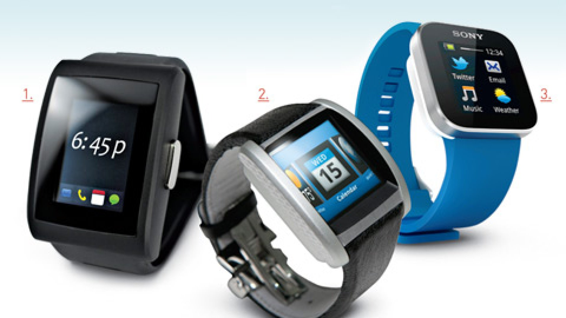 Face-off: Bluetooth Watches Tested