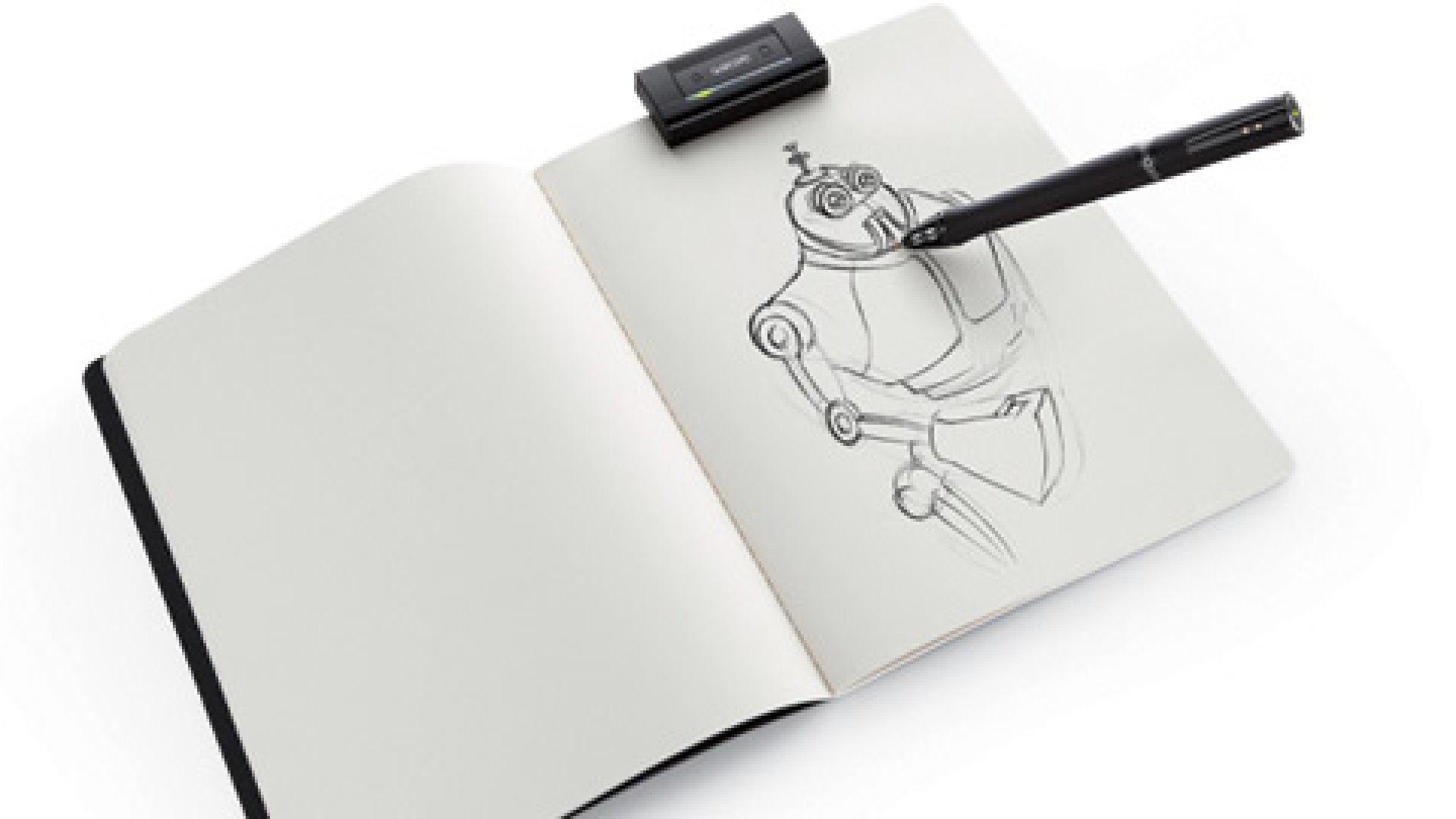 A Souped-up Digital Pen