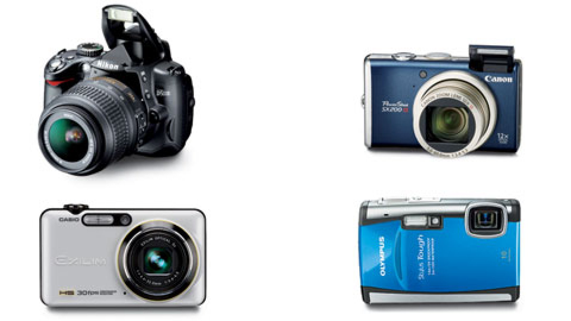 Four of the Best Cameras on the Market