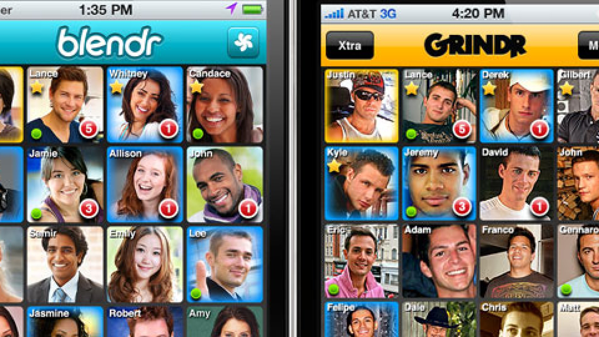 First there was Grindr, a gay social network. Then came Simkhai's mainstream attempt: Blendr.
