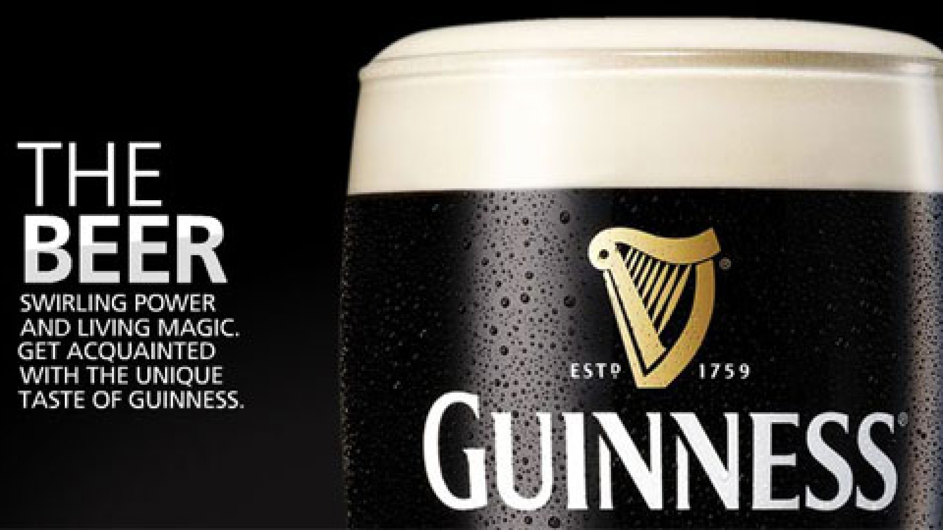 Guinness is a popular Irish dry stout.
