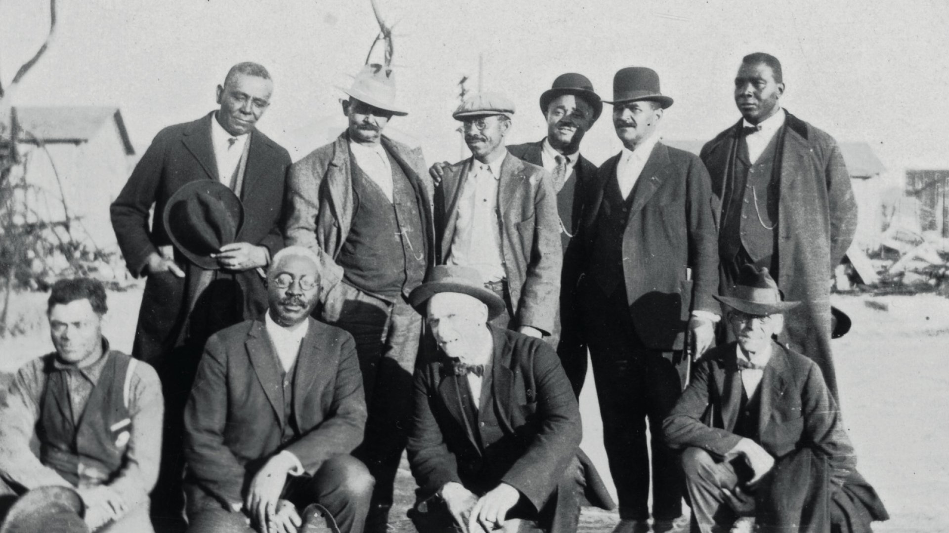 O.W. Gurley (shown here circa 1921, bottom row, second from left)