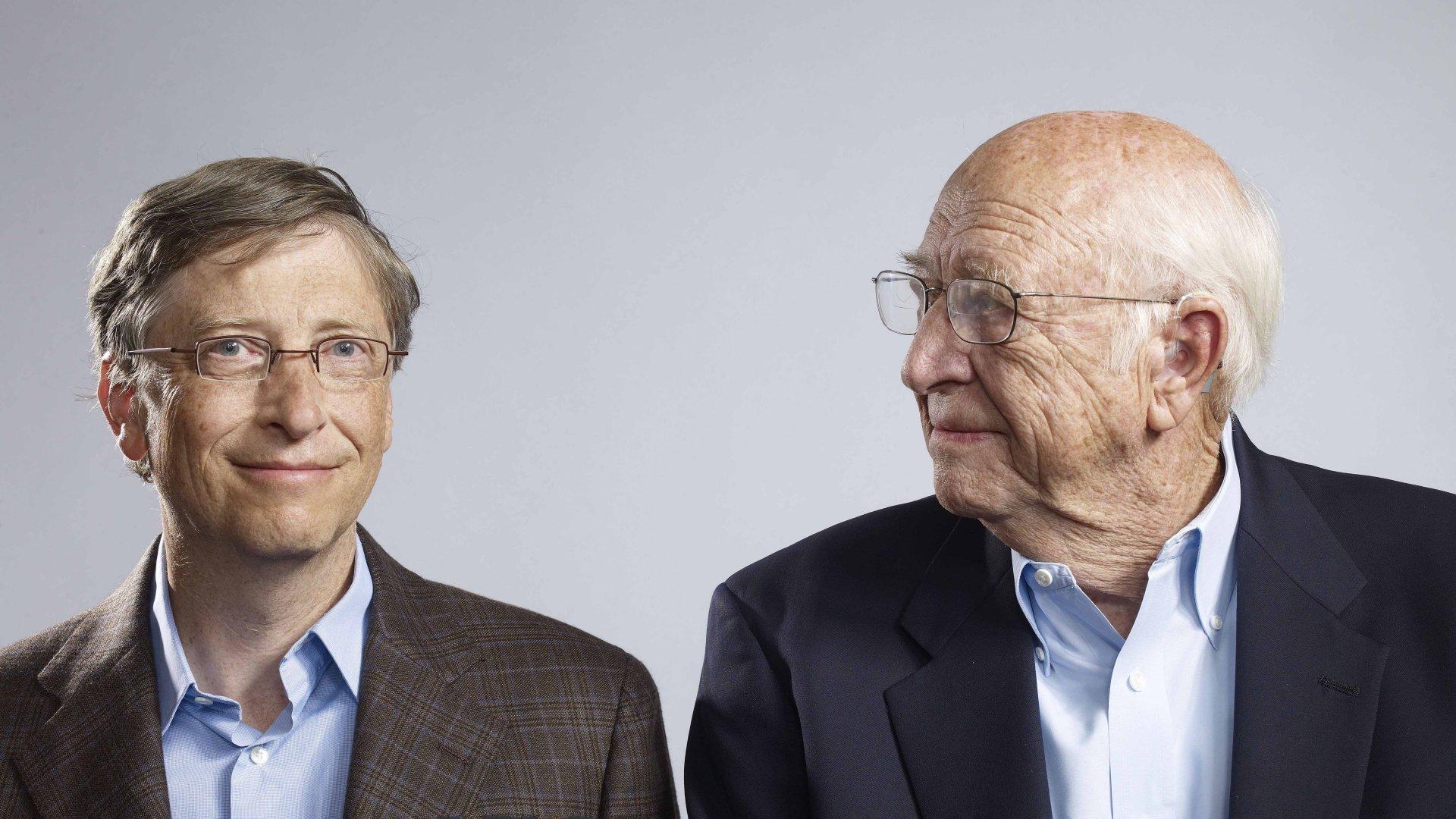 Bill Gates and  Bill Gates Sr.