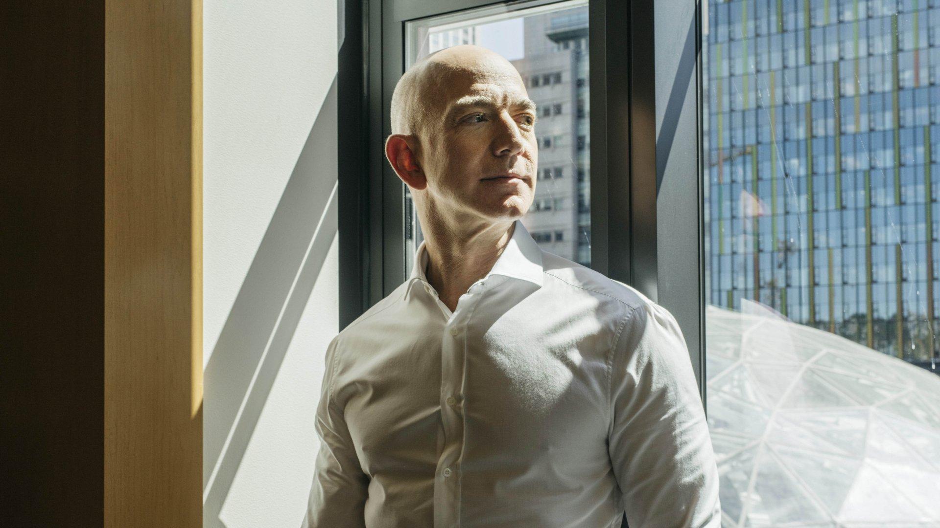 Amazon CEO, Jeff Bezos
