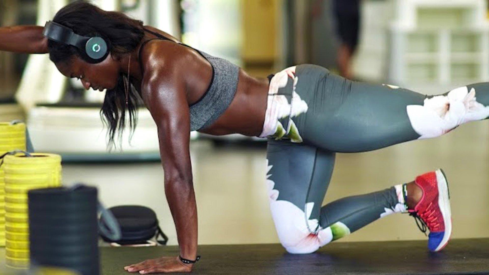 Sprinter Hafsatu Kamara of Sierra Leone training for the Rio Olympics with Halo Sport