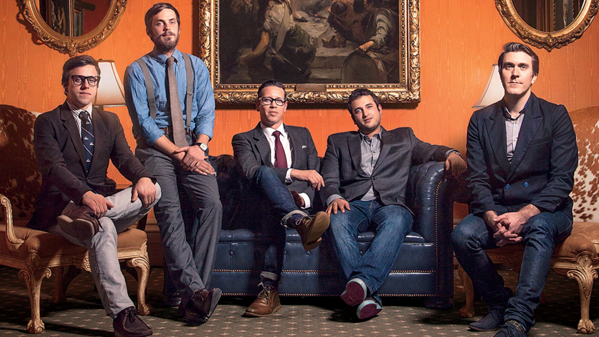 <b>Company Men</b> Branding and design firm PB&J has merged twice since 2011. Above, the partners in the unified company (from left), Alex Aeschbury, Mike Nauman, Emmit Jones, Zach Darmanian-Harris, and Micah Paldino.
