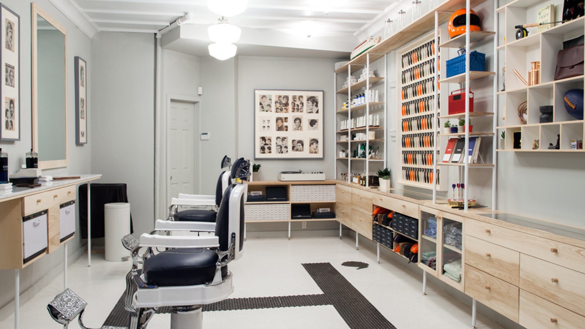 A New Warby Parker Spin on the Barbershop