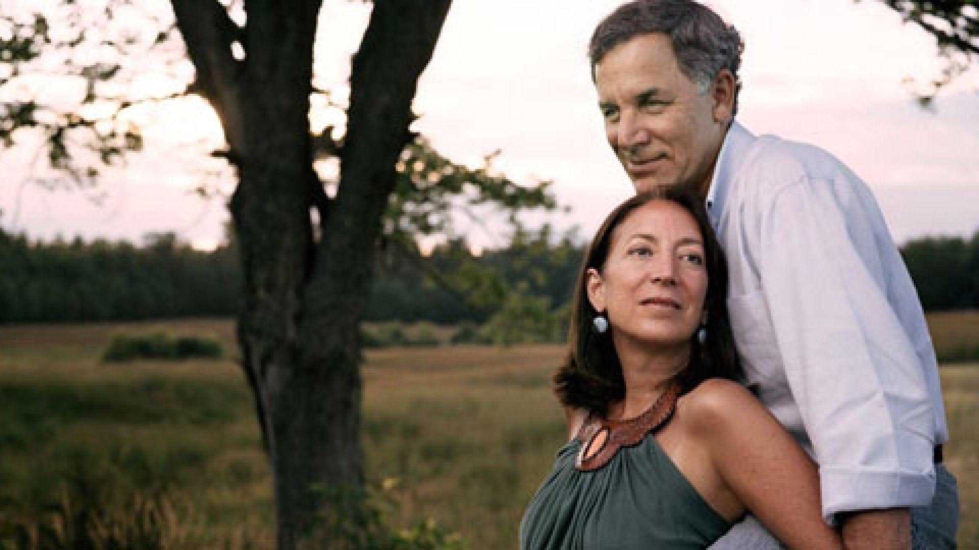 Inc. columnist Meg Cadoux Hirshberg and Stonyfield founder Gary Hirshberg