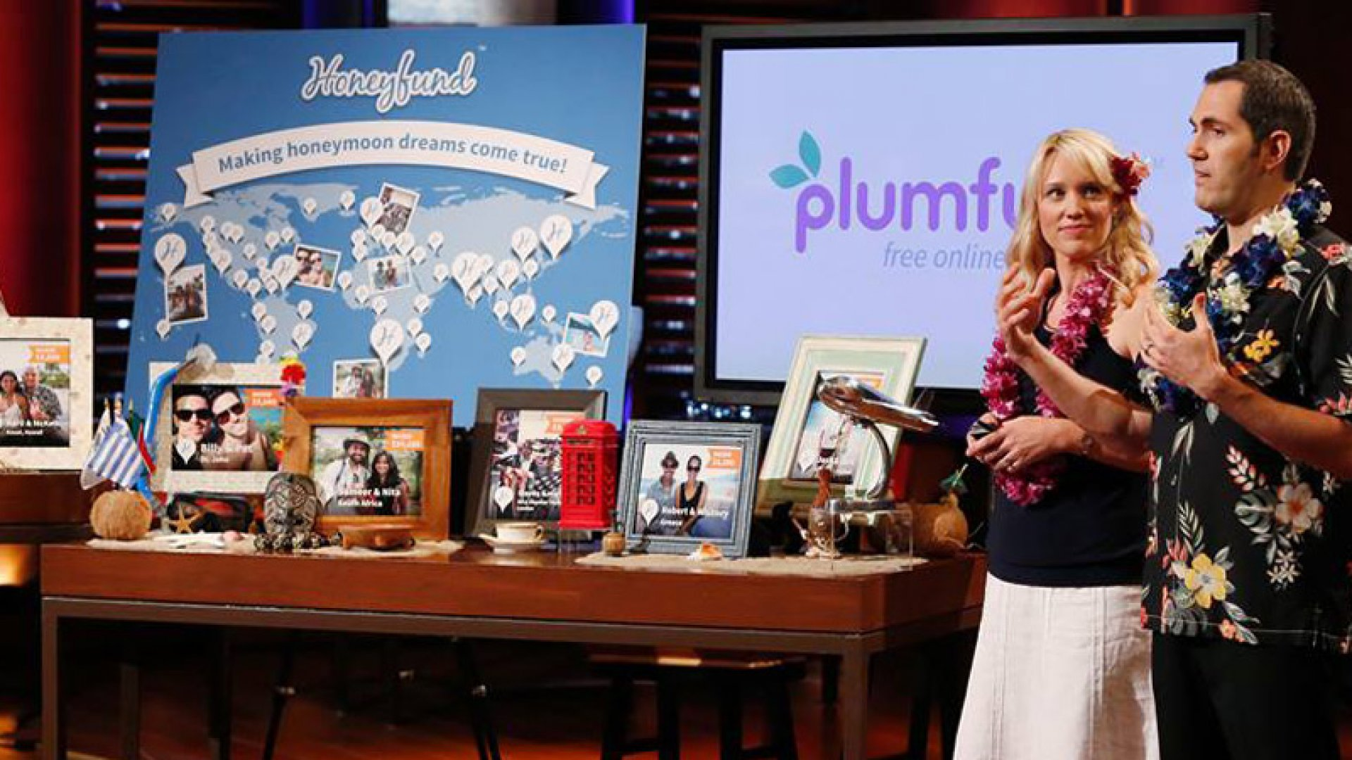 'Shark Tank' Hosts Compete for the Kickstarter of Honeymoons