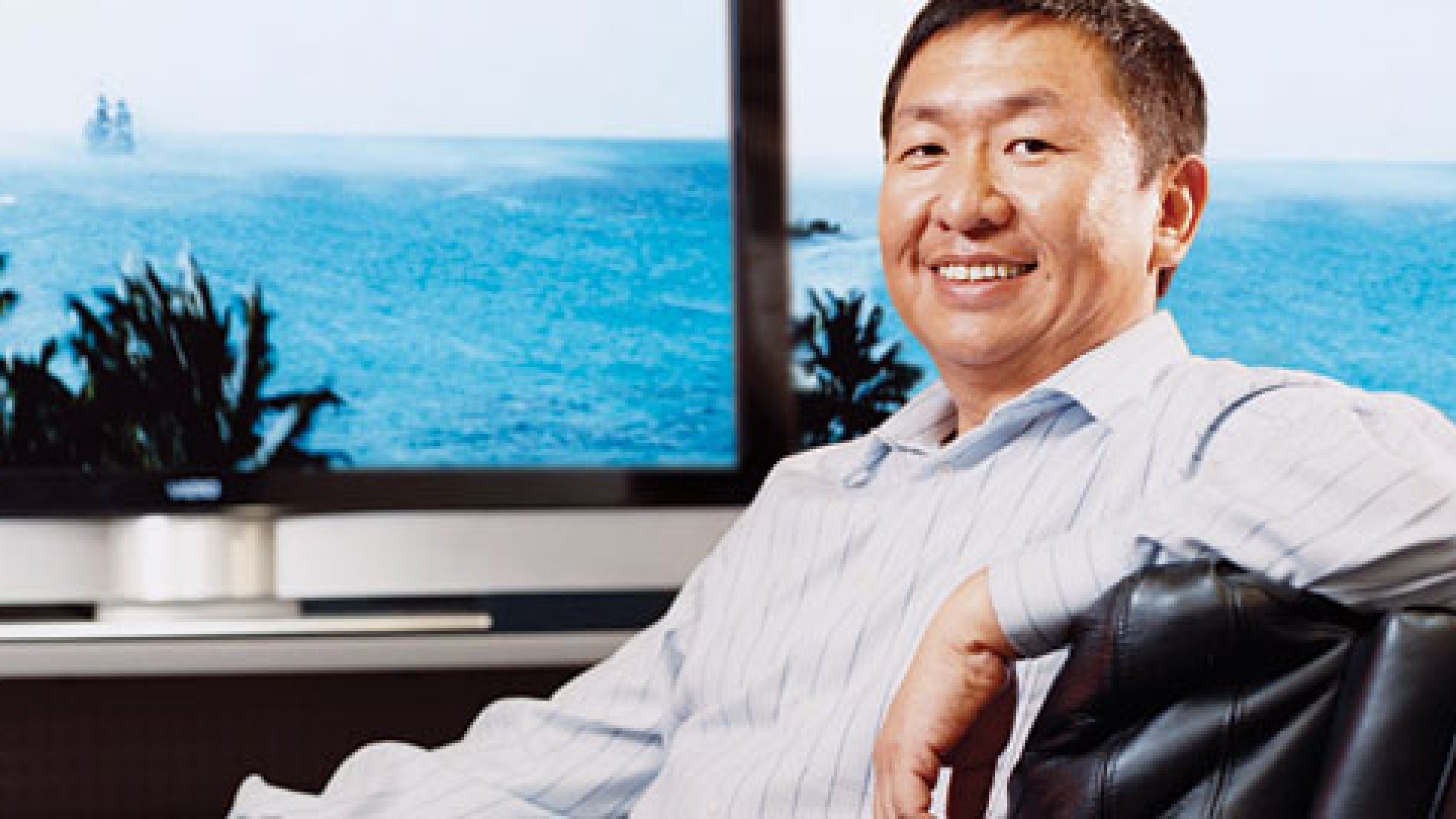 <strong>A SENSE OF CLARITY:</strong> When William Wang says it's not really about the money, believe it. That said, Vizio will sell $2 billion worth of TVs this year.