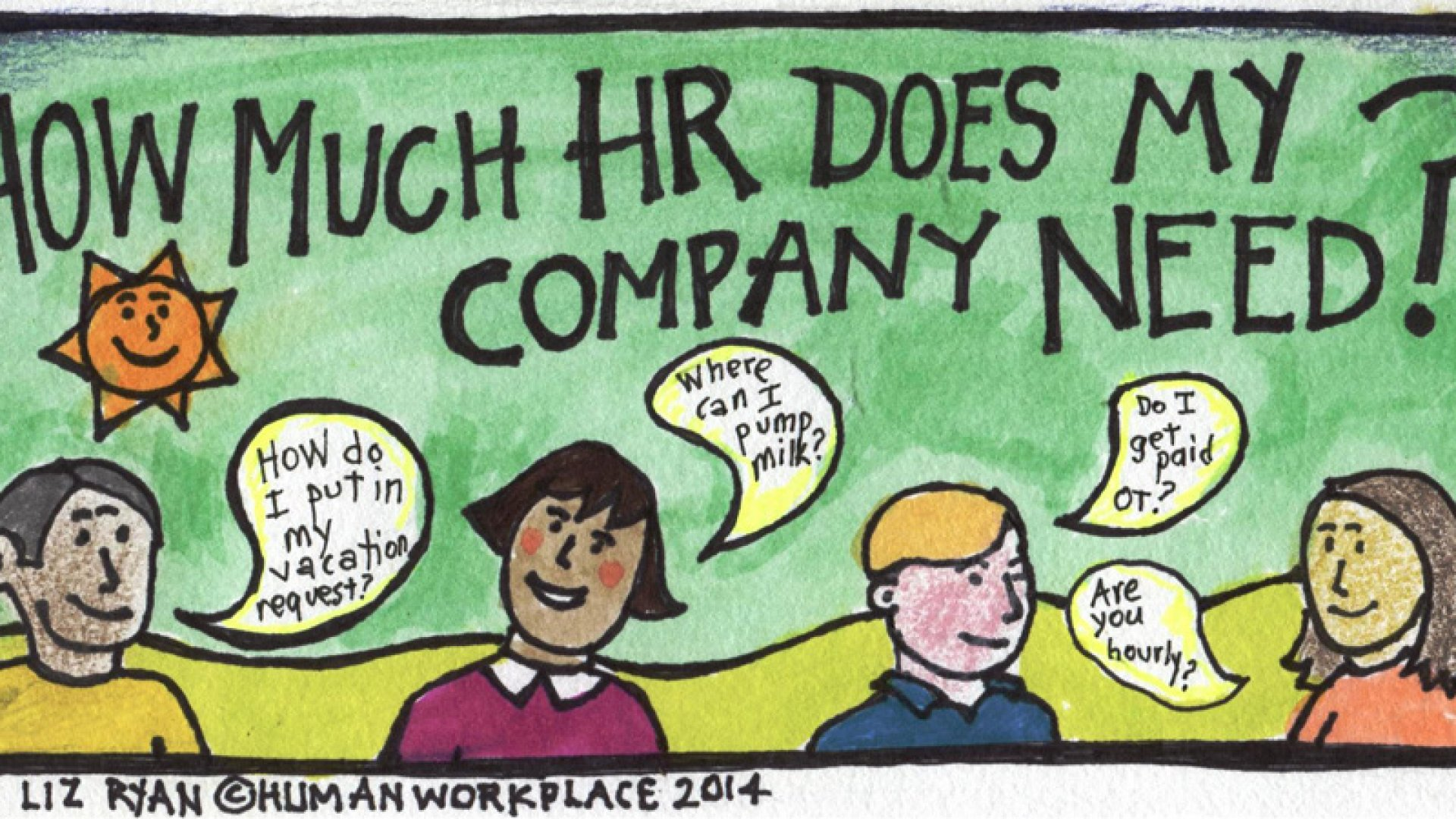 How Much HR Does My Company Need?