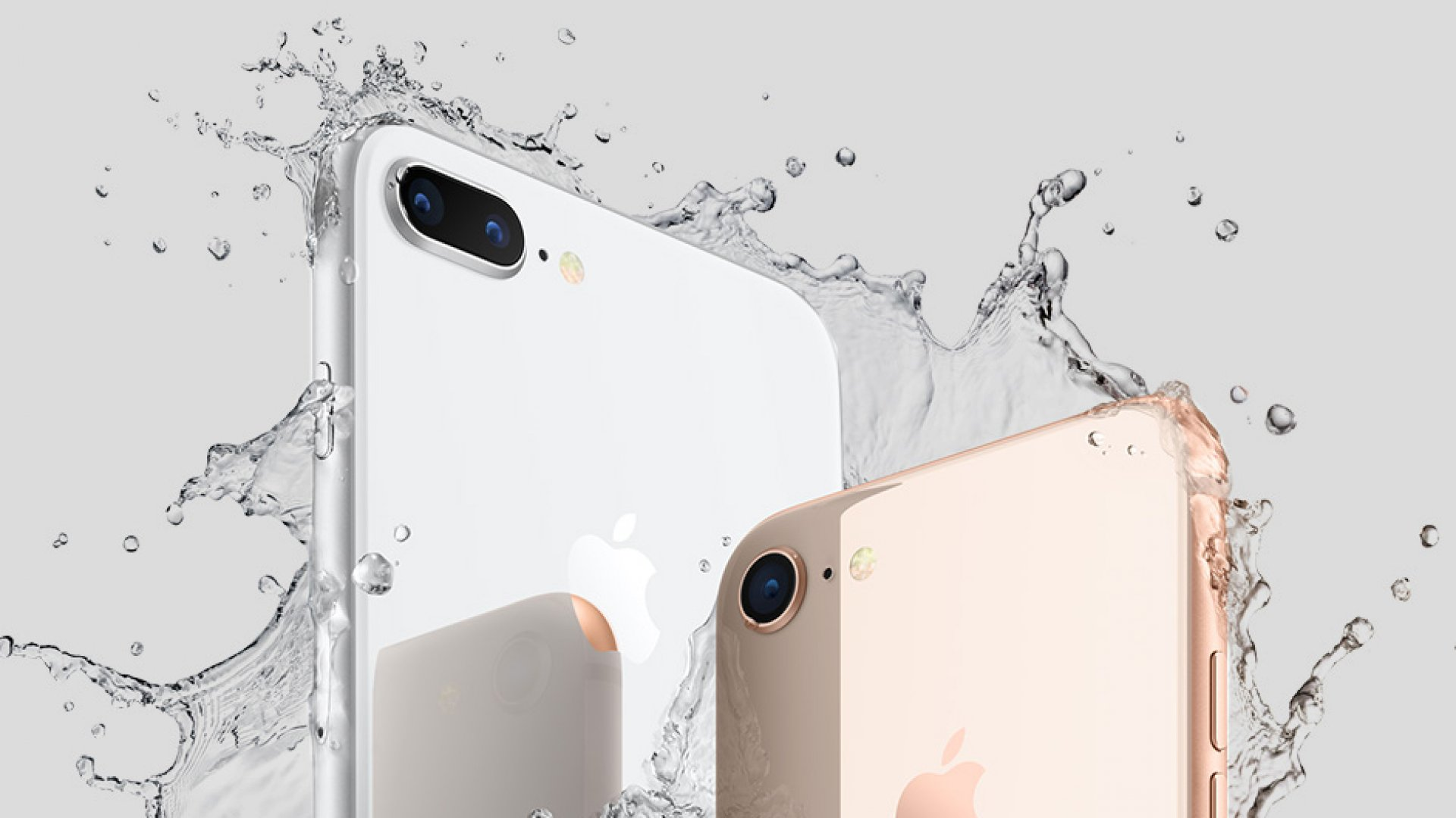 The new iPhone 8 and iPhone 8 Plus have one amazing new feature--plus, they are water resistant.