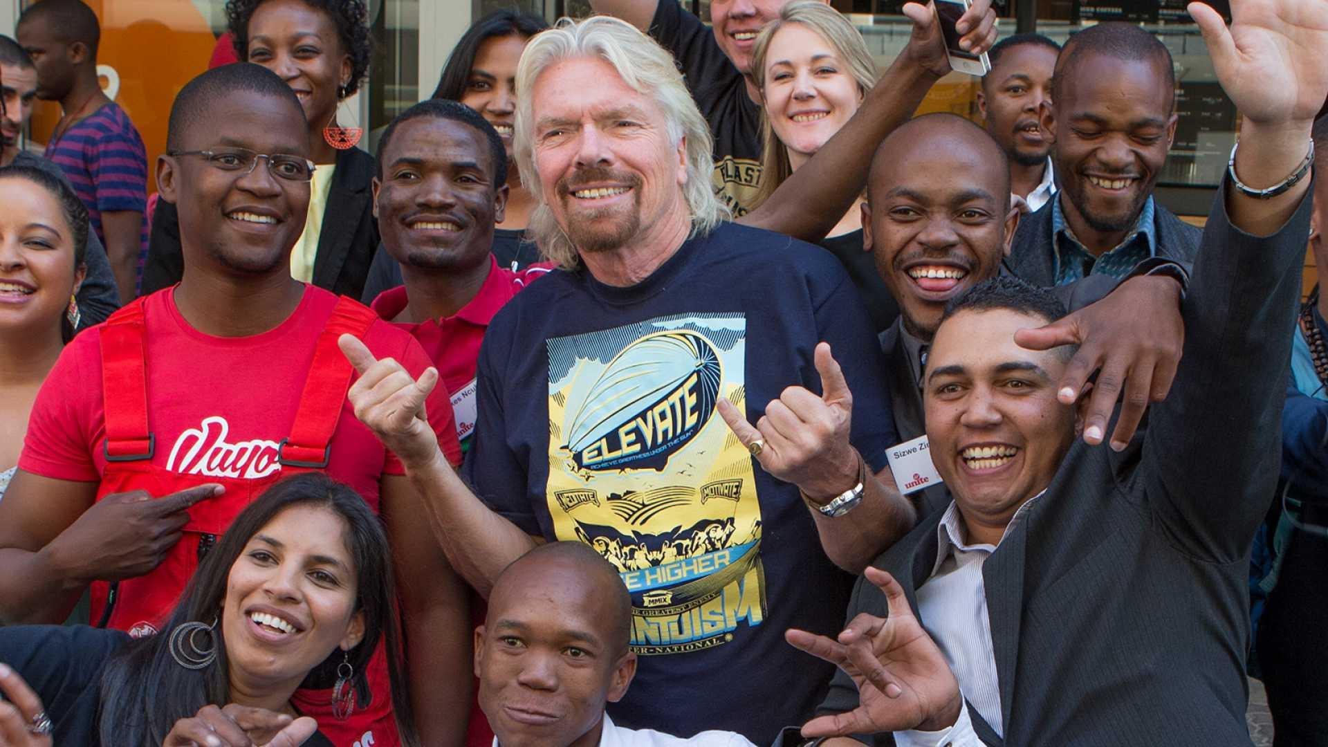 Richard Branson: 'Become Part of the Next Entrepreneurial Revolution'